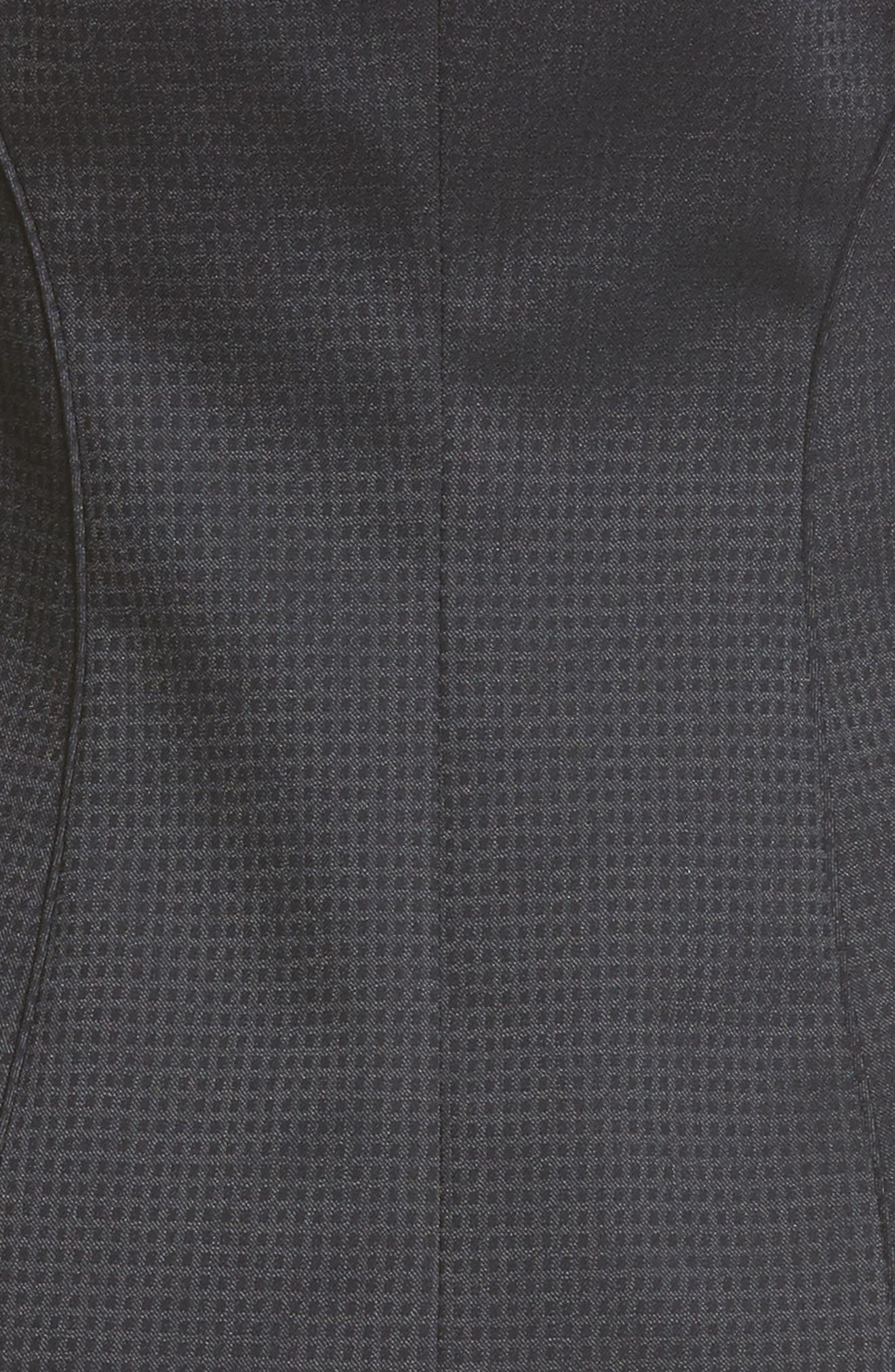 Jukani Check Wool Blend Suit Jacket,                             Alternate thumbnail 12, color,