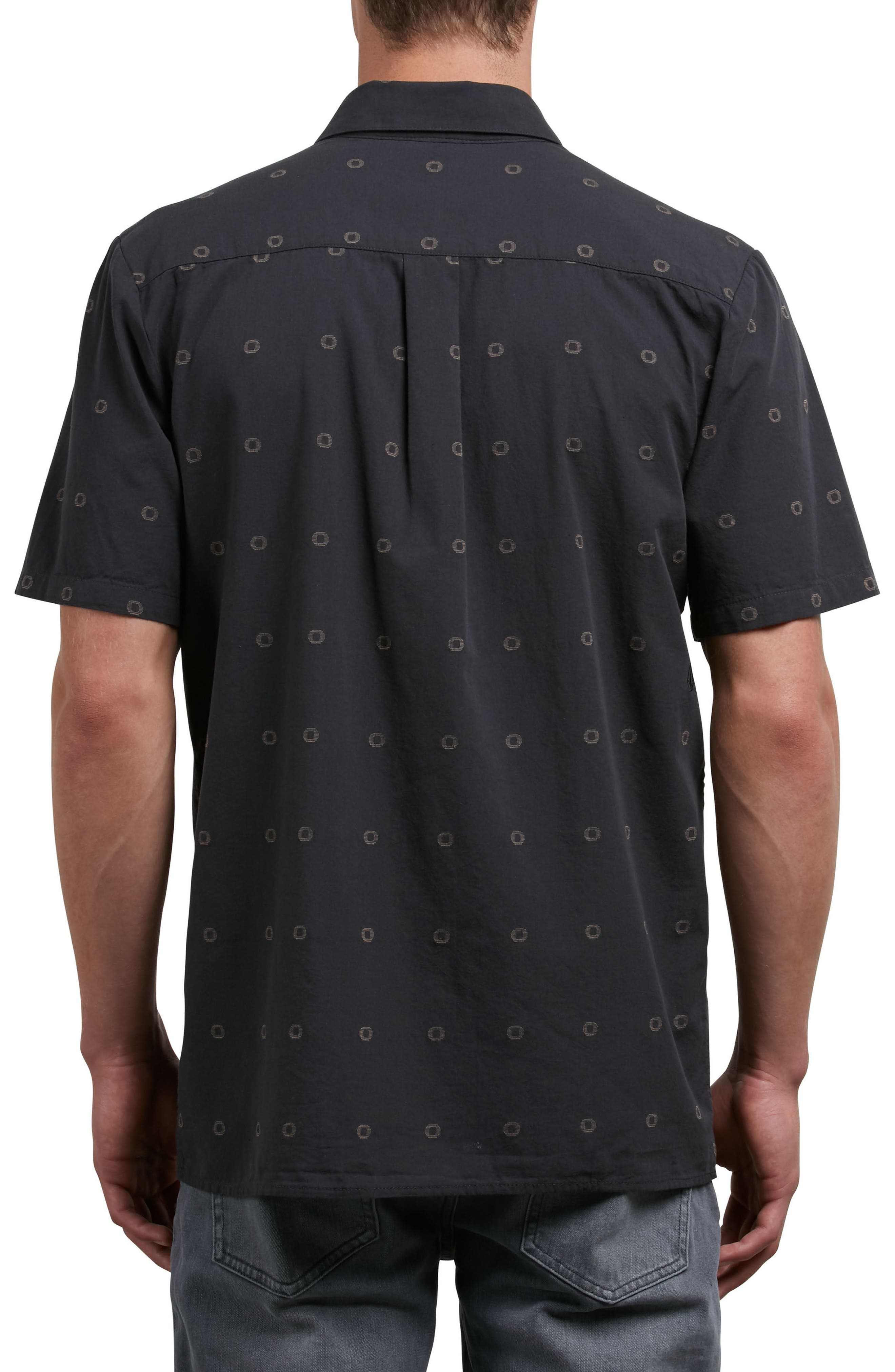 Trenton Woven Shirt,                             Alternate thumbnail 2, color,                             011