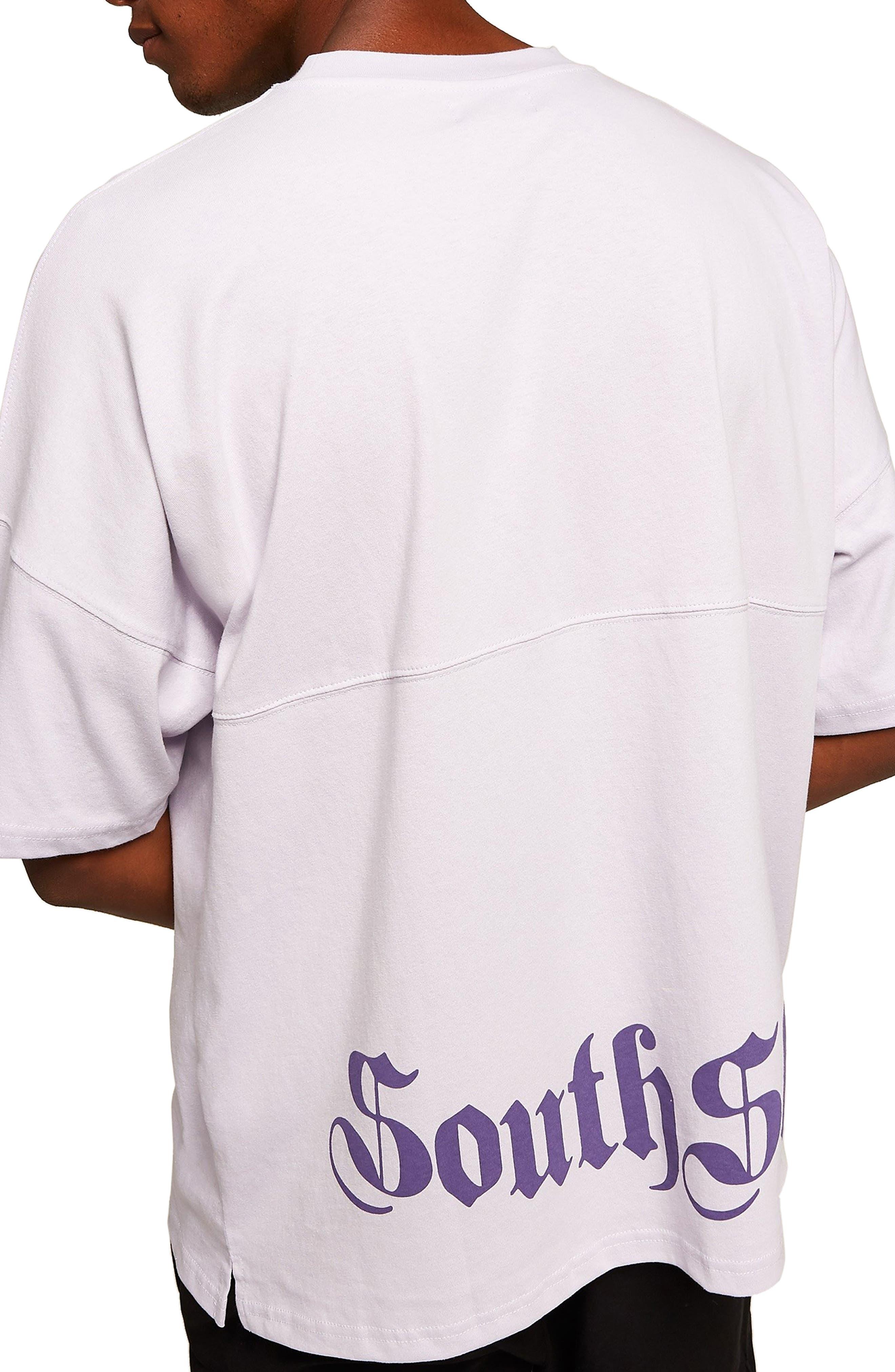 Southshore Oversize T-Shirt,                             Alternate thumbnail 2, color,                             PURPLE