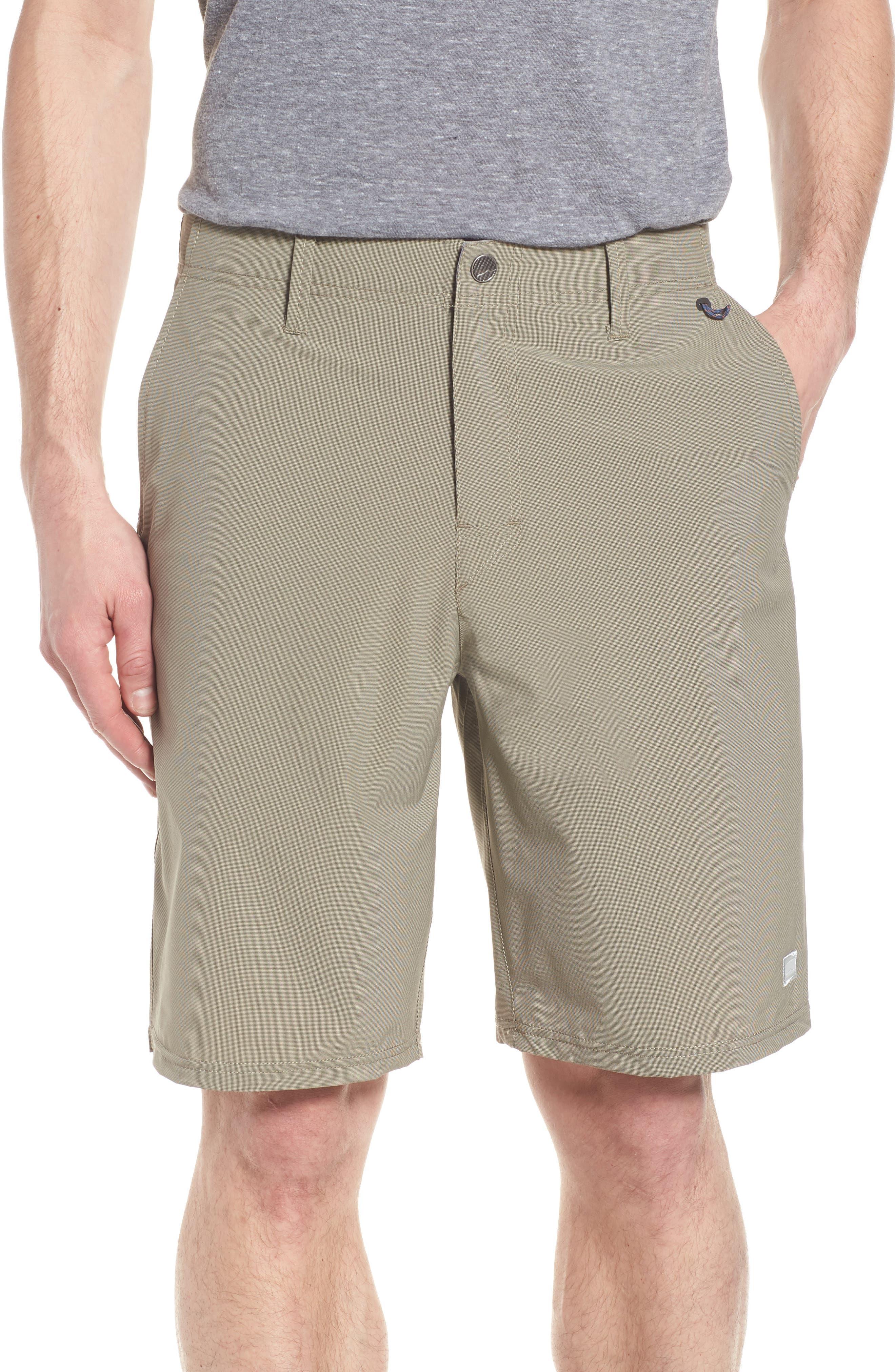 Seaside Hybrid Shorts,                             Main thumbnail 1, color,                             ESPRESSO