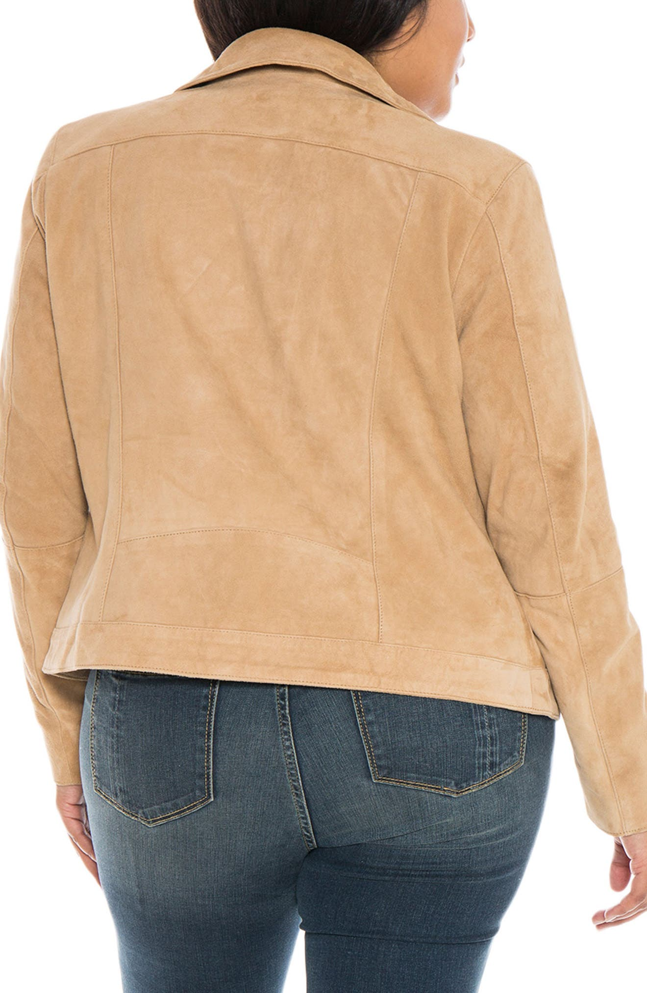 Canyon Suede Jacket,                             Alternate thumbnail 2, color,                             SAND
