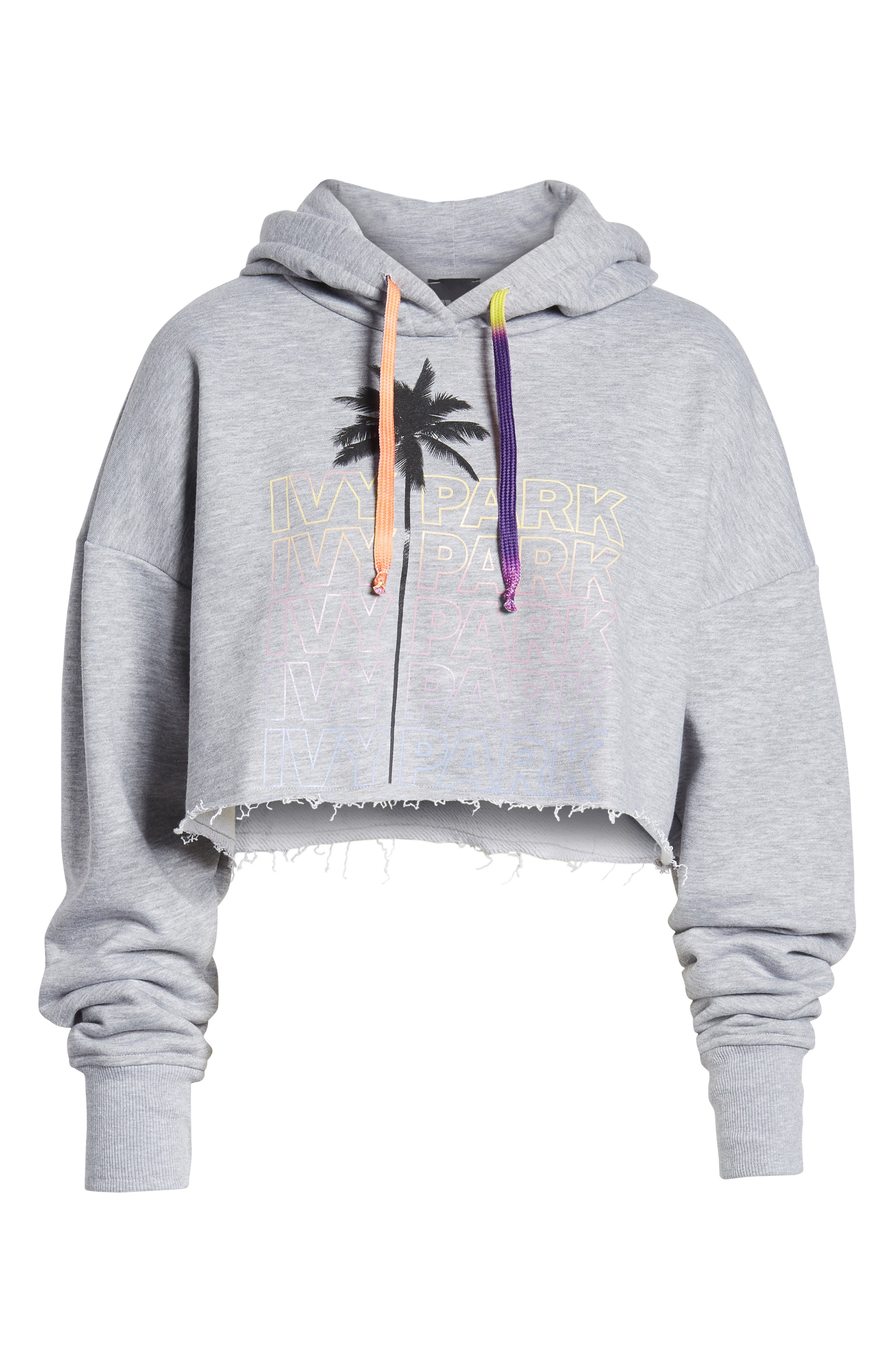 Festival Crop Hoodie,                             Alternate thumbnail 7, color,                             050