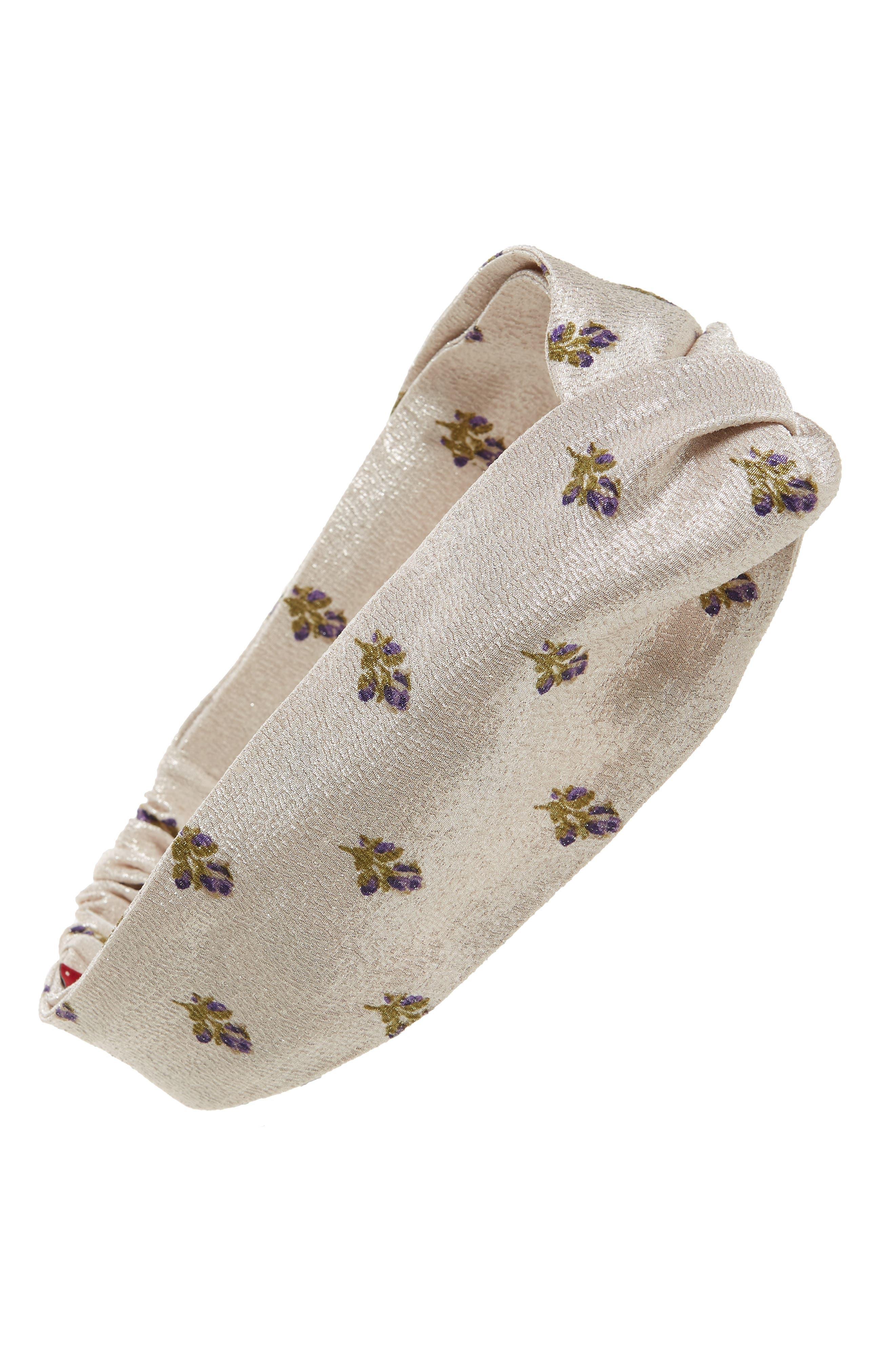Petite Roses Headband,                         Main,                         color, 650