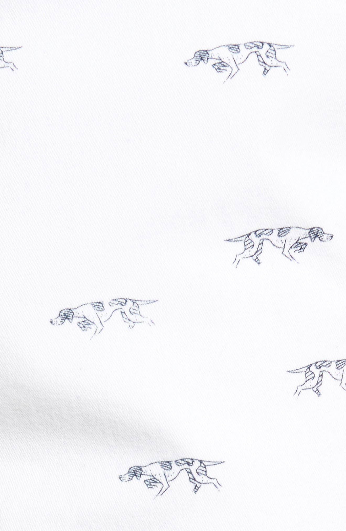 Lauriston Print Twill Shorts,                             Alternate thumbnail 5, color,                             142