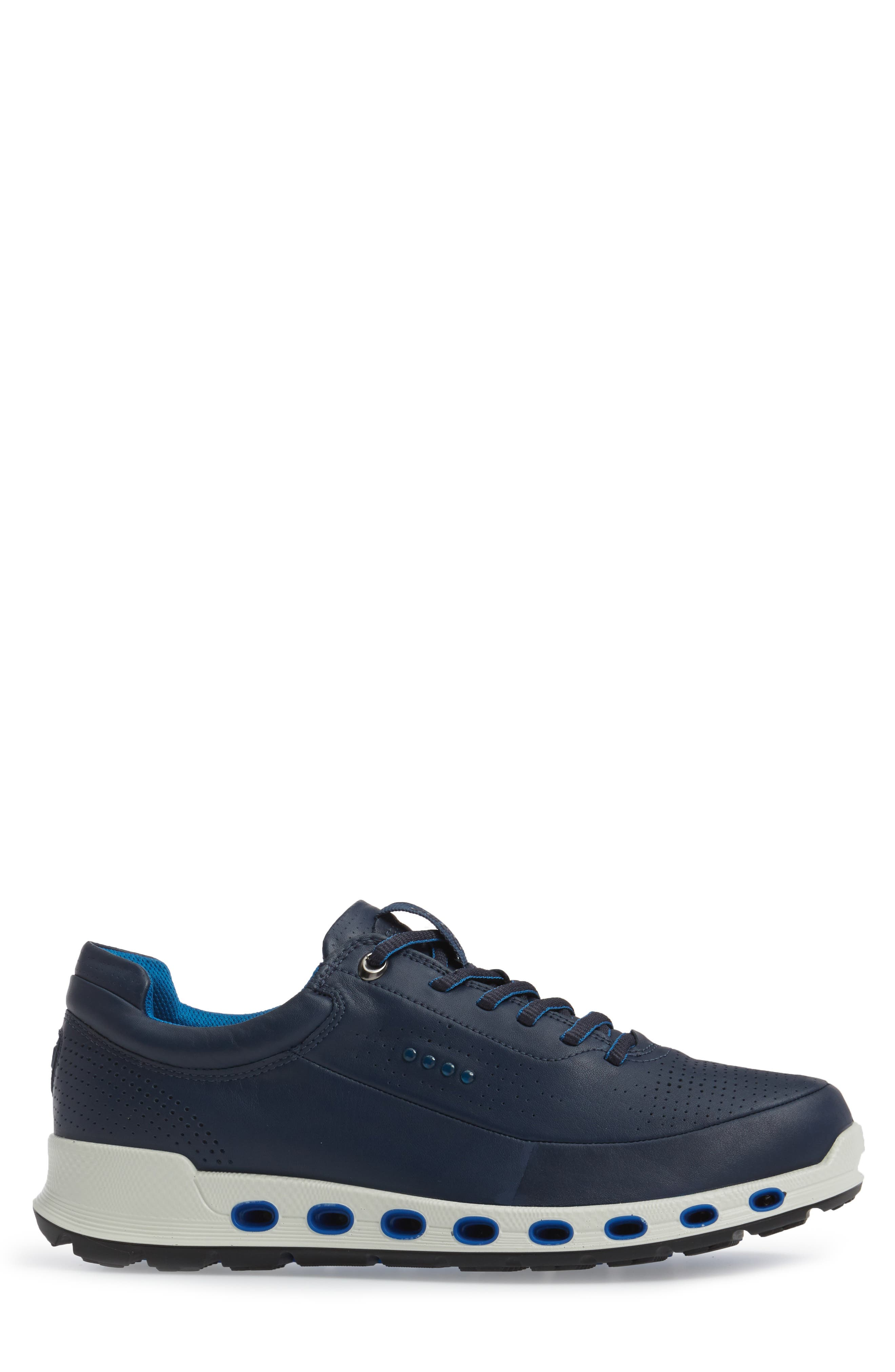 Cool 2.0 Leather GTX Sneaker,                             Alternate thumbnail 3, color,                             NAVY