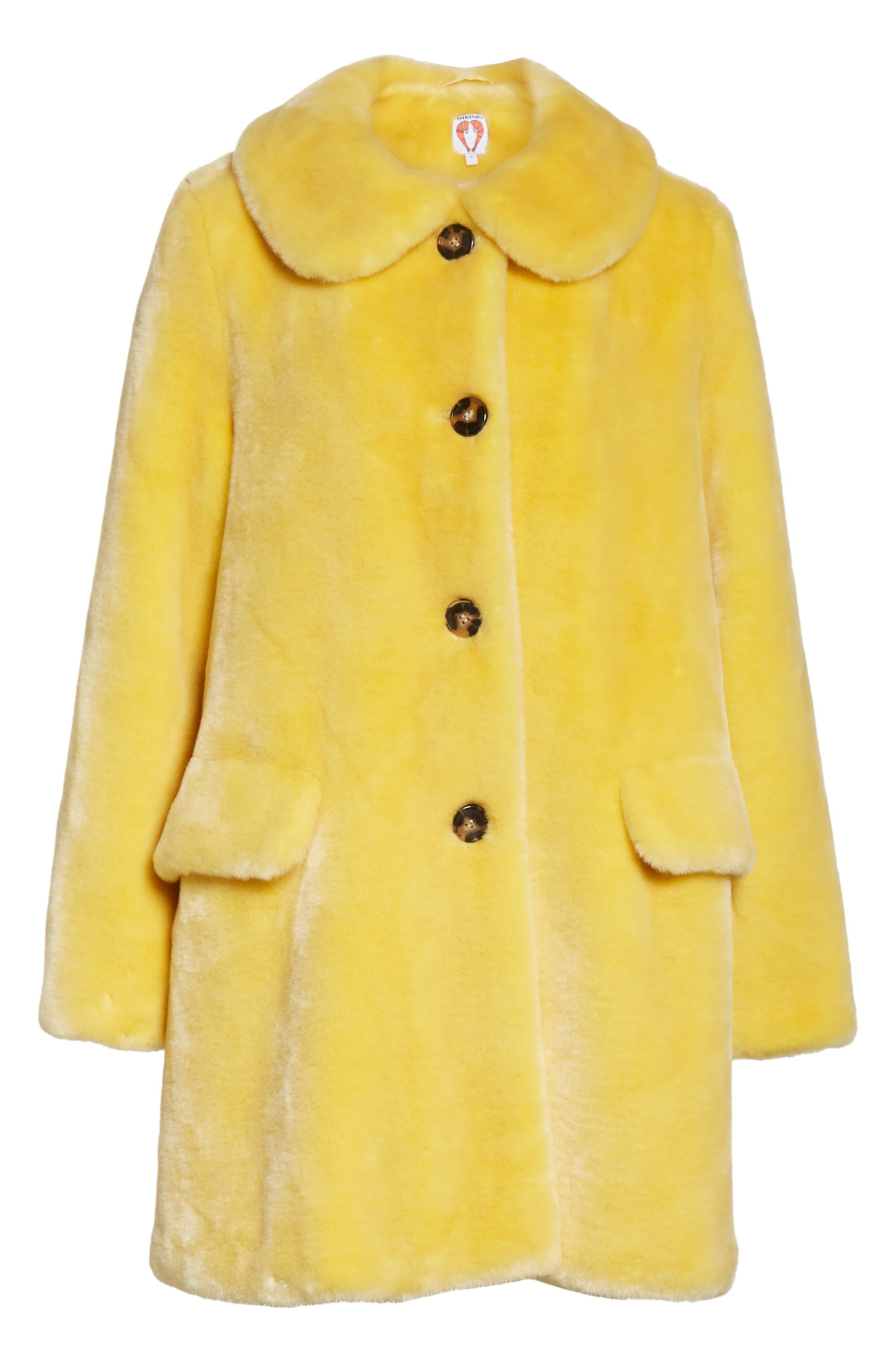 Pyrus Oversized Faux Fur Coat,                             Alternate thumbnail 5, color,                             700