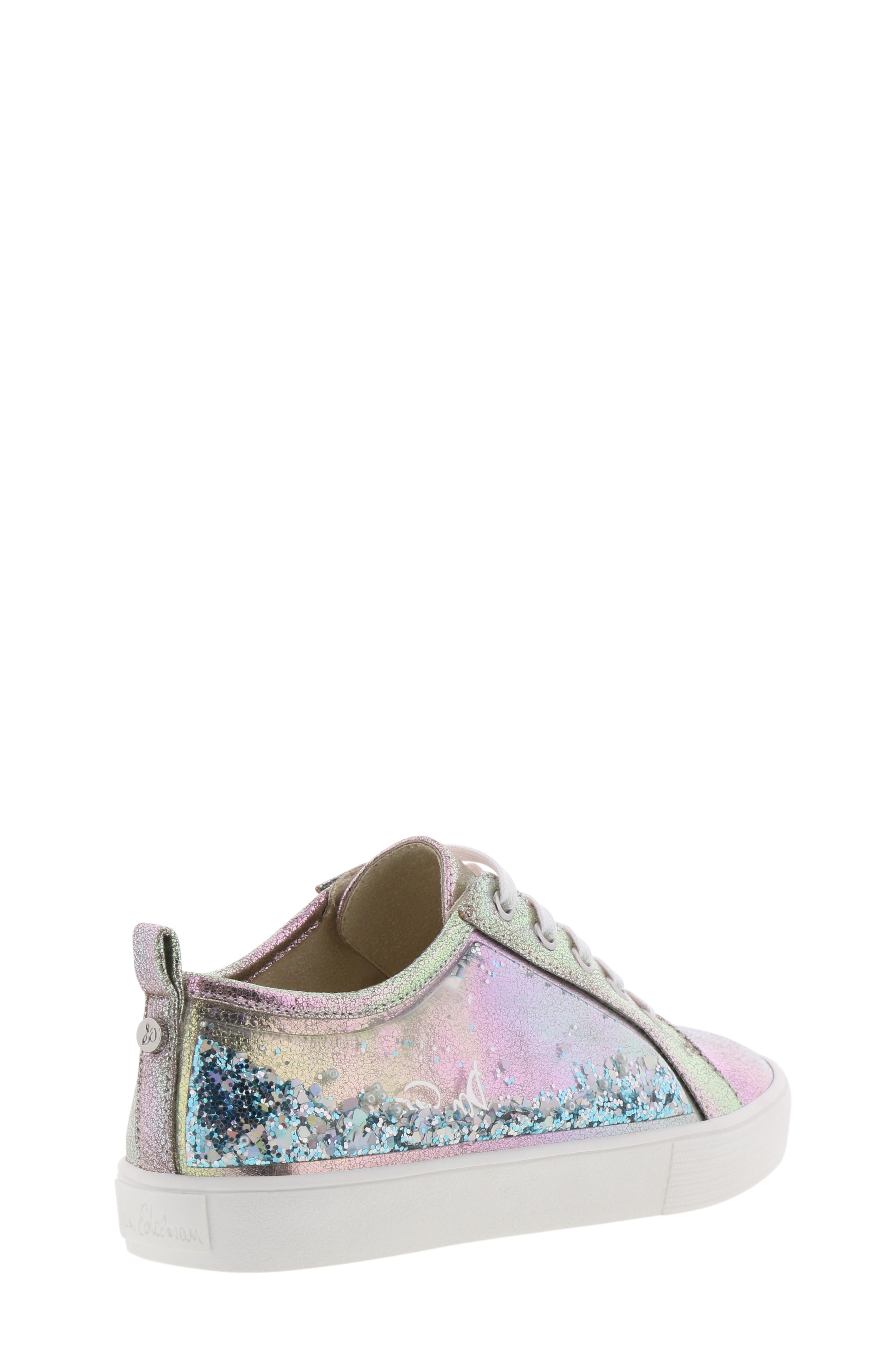Bella Aqua Slip-On Sneaker,                             Alternate thumbnail 2, color,                             GASOLINE IRIDESCENT