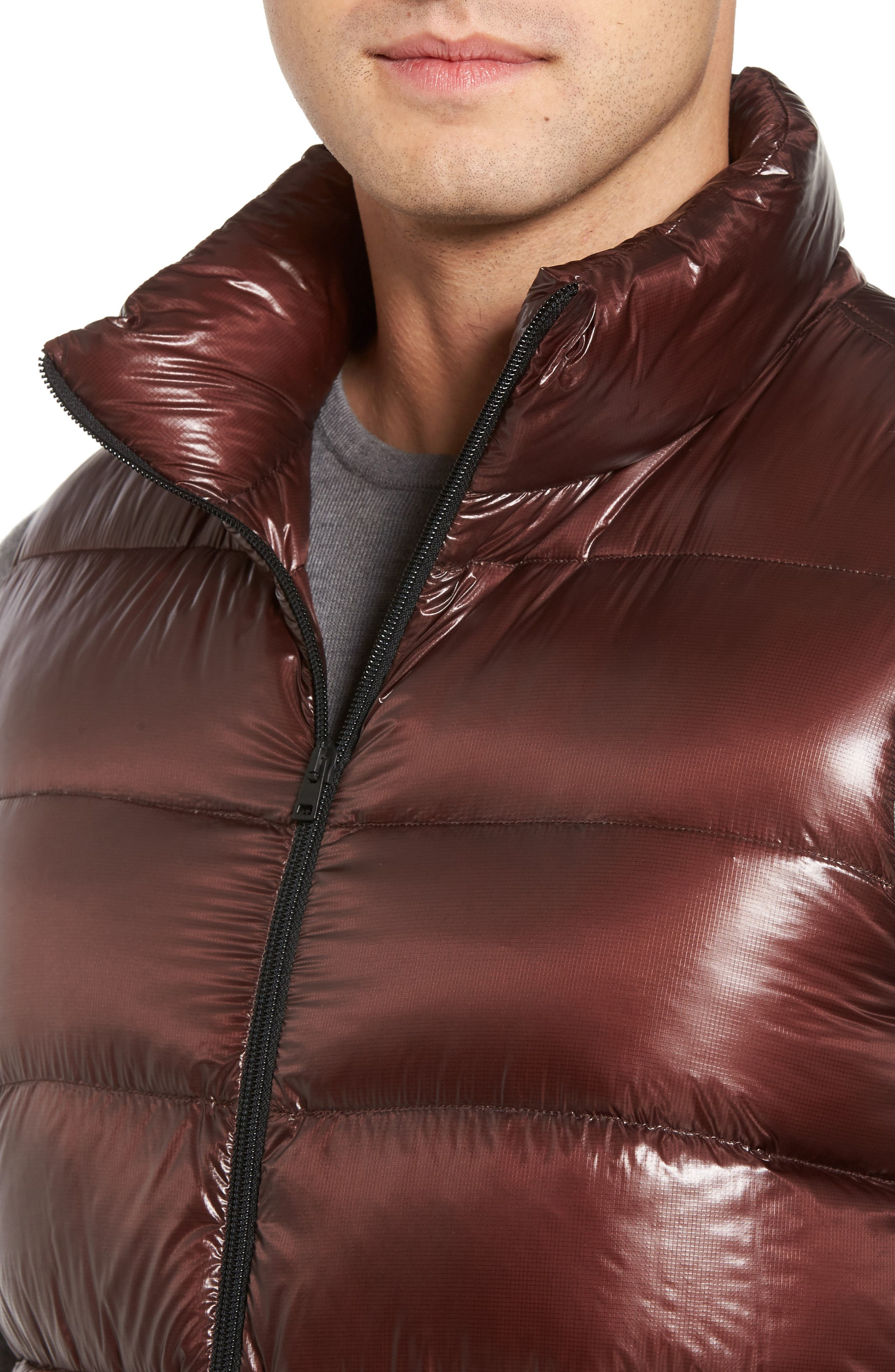 Quilted Down Vest,                             Alternate thumbnail 4, color,                             201