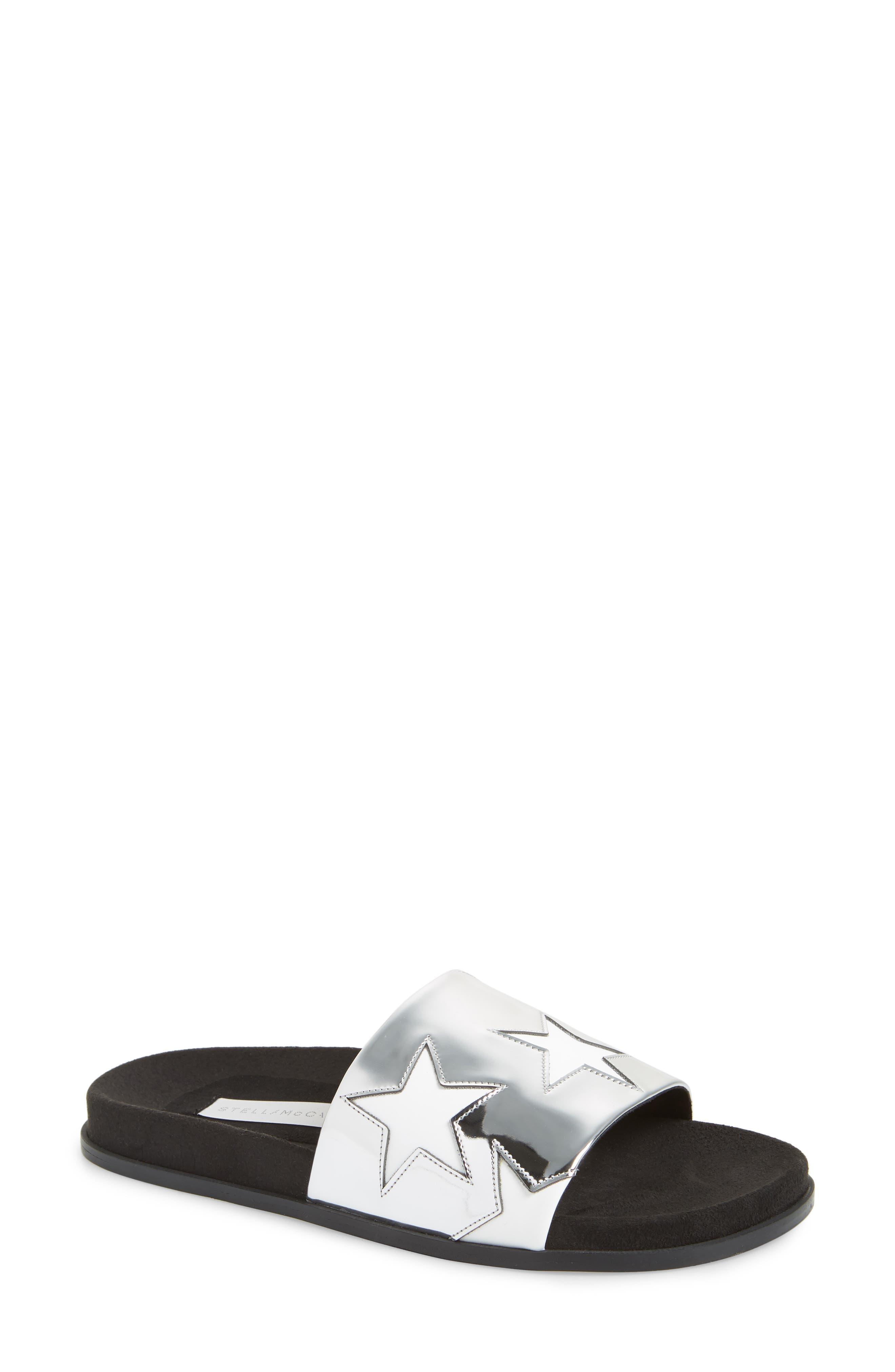 STELLA MCCARTNEY Star Slide Sandal, Main, color, 041