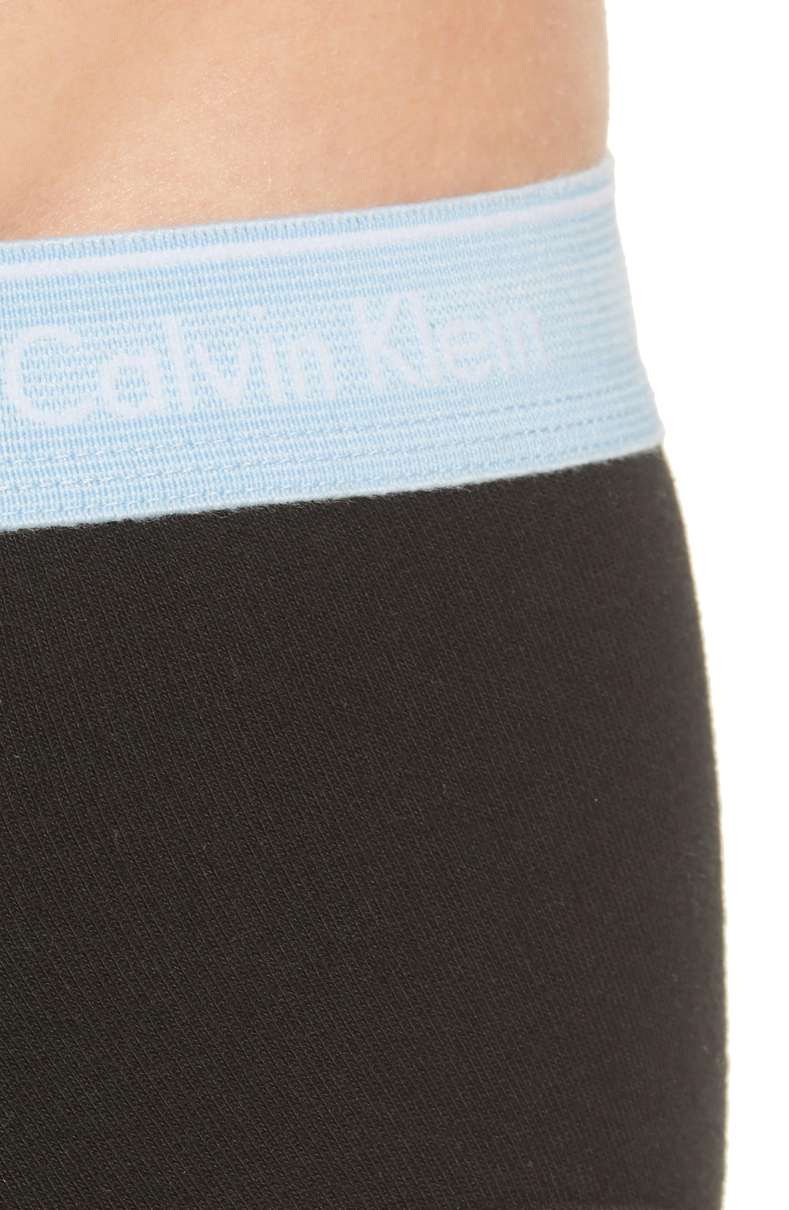 Classic 5-Pack Cotton Briefs,                             Alternate thumbnail 5, color,                             BLACK/ BLK/ GAZE/ BLUE