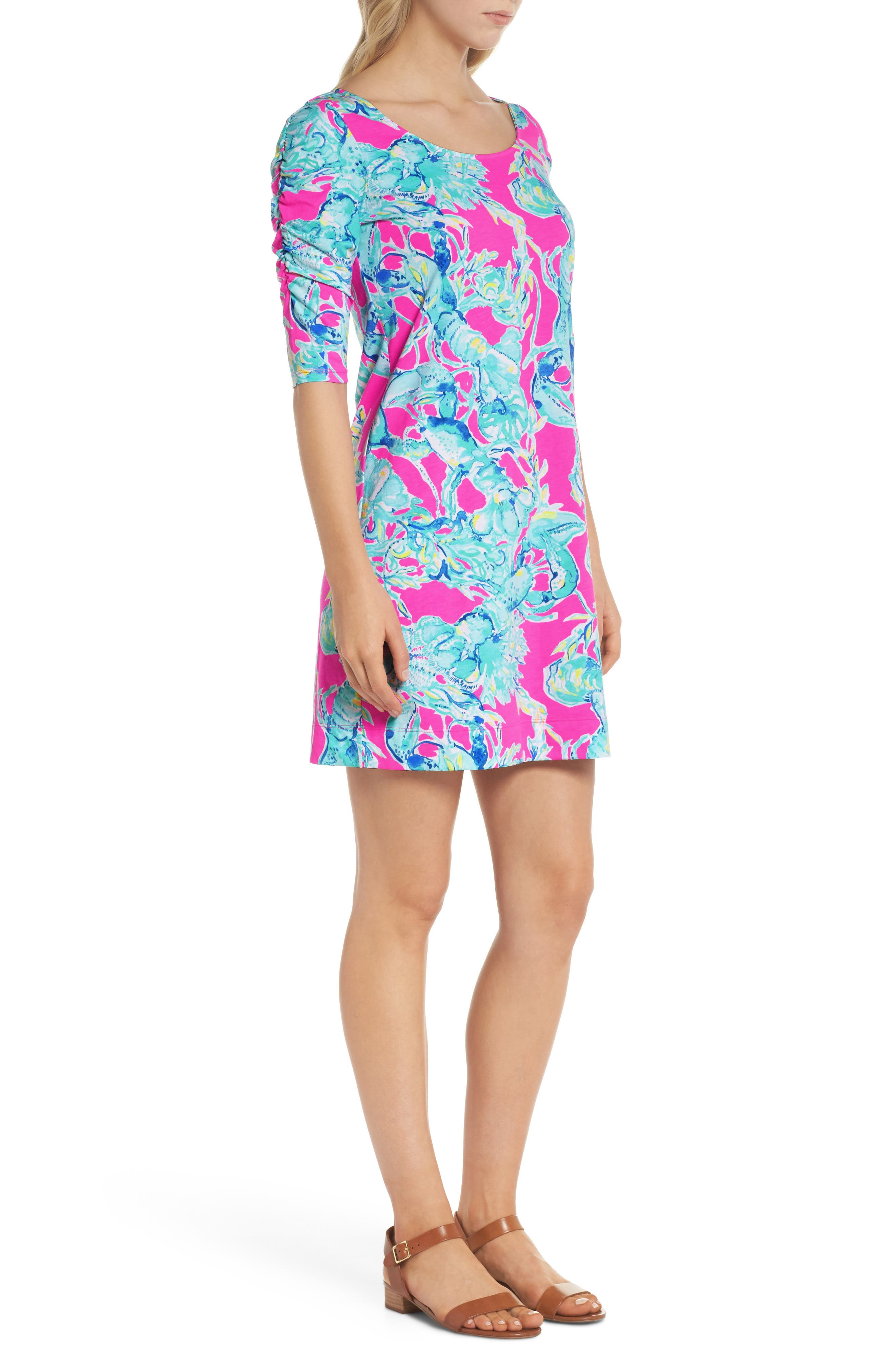 Lajolla T-Shirt Dress,                             Alternate thumbnail 3, color,                             400