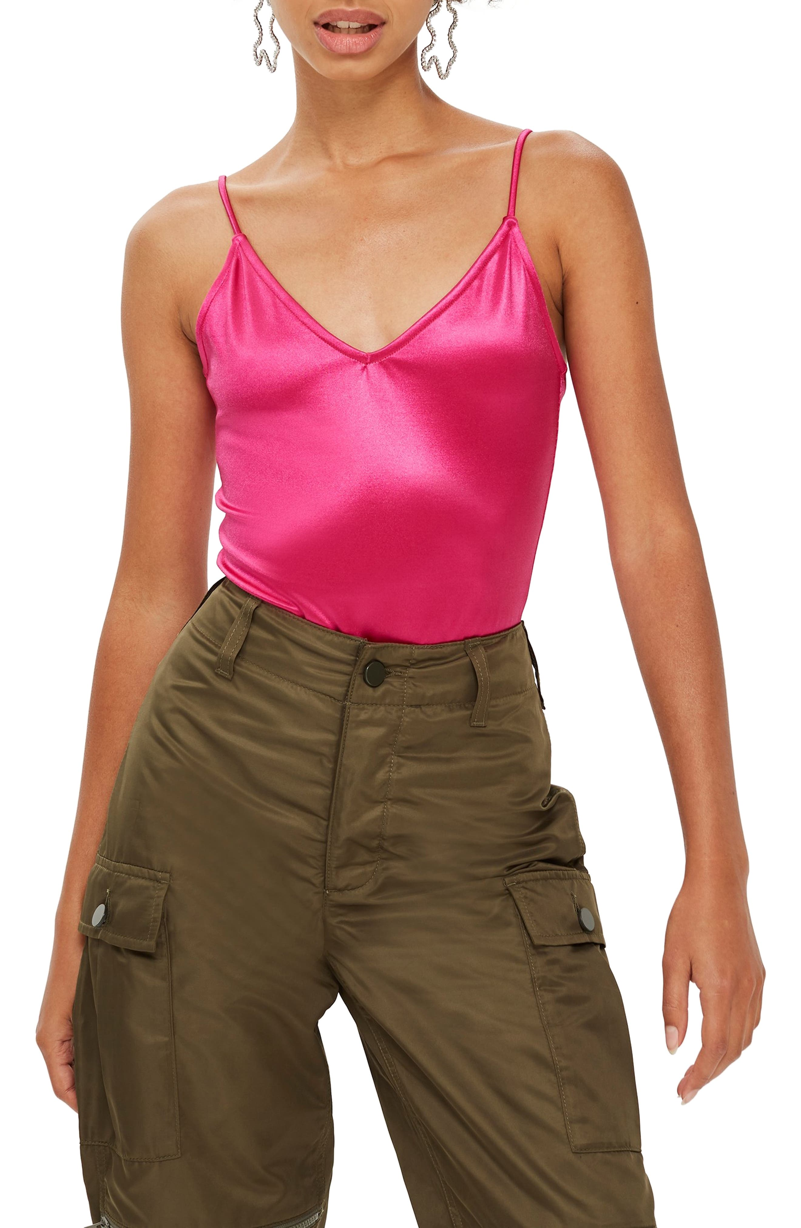 Disco Bodysuit,                         Main,                         color, PINK