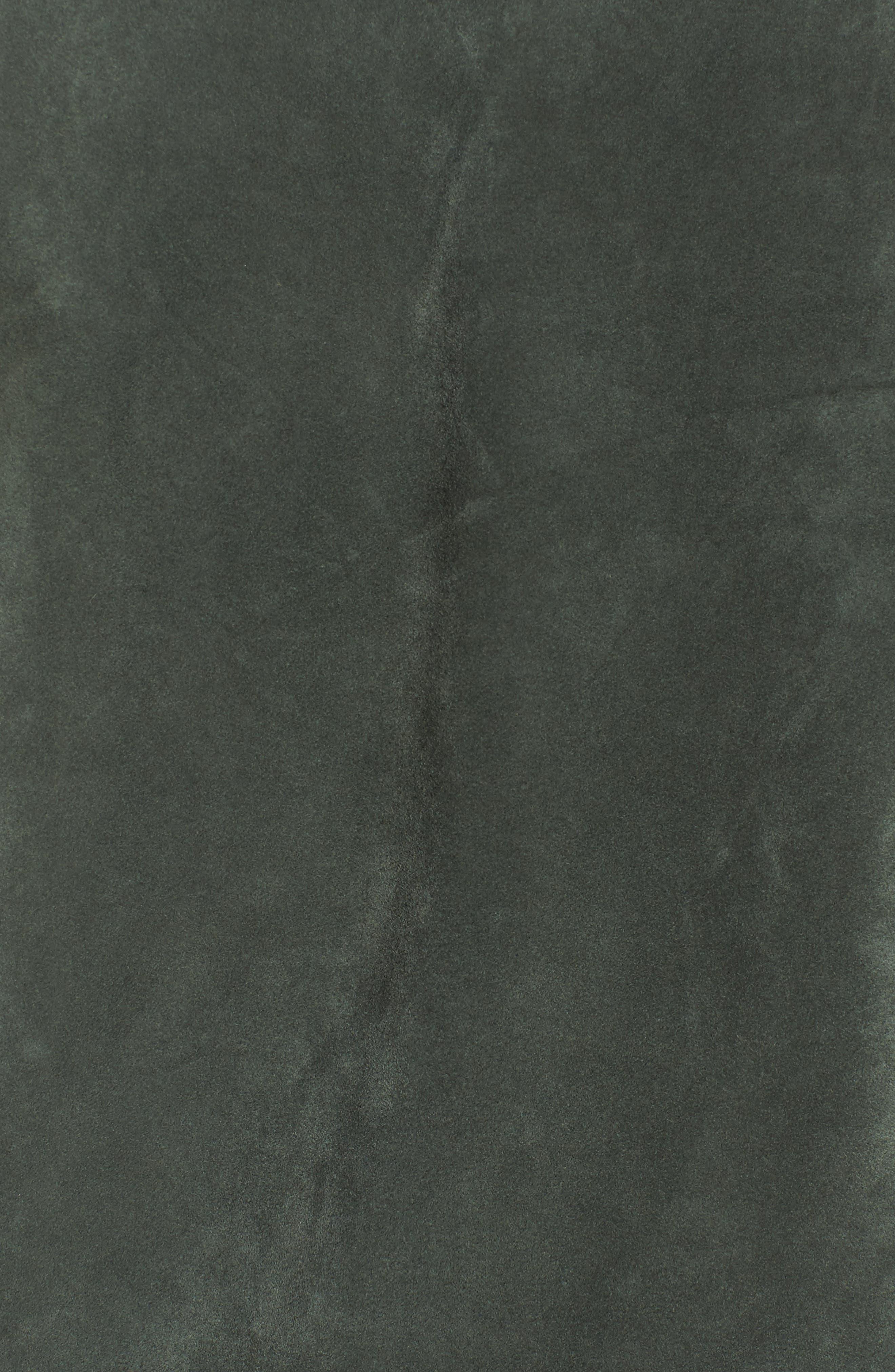 Wes Suede Moto Jacket,                             Alternate thumbnail 6, color,                             309