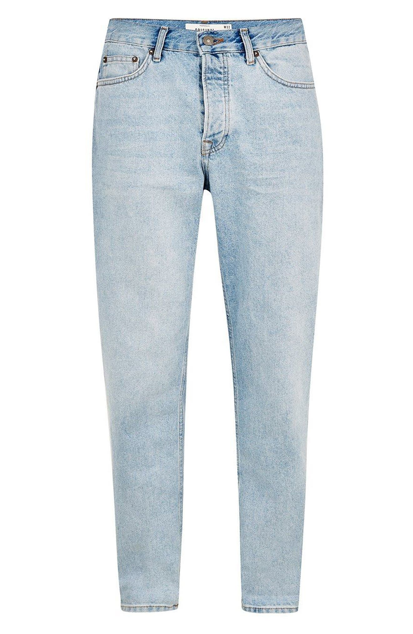 Original Fit Jeans,                             Alternate thumbnail 4, color,                             400