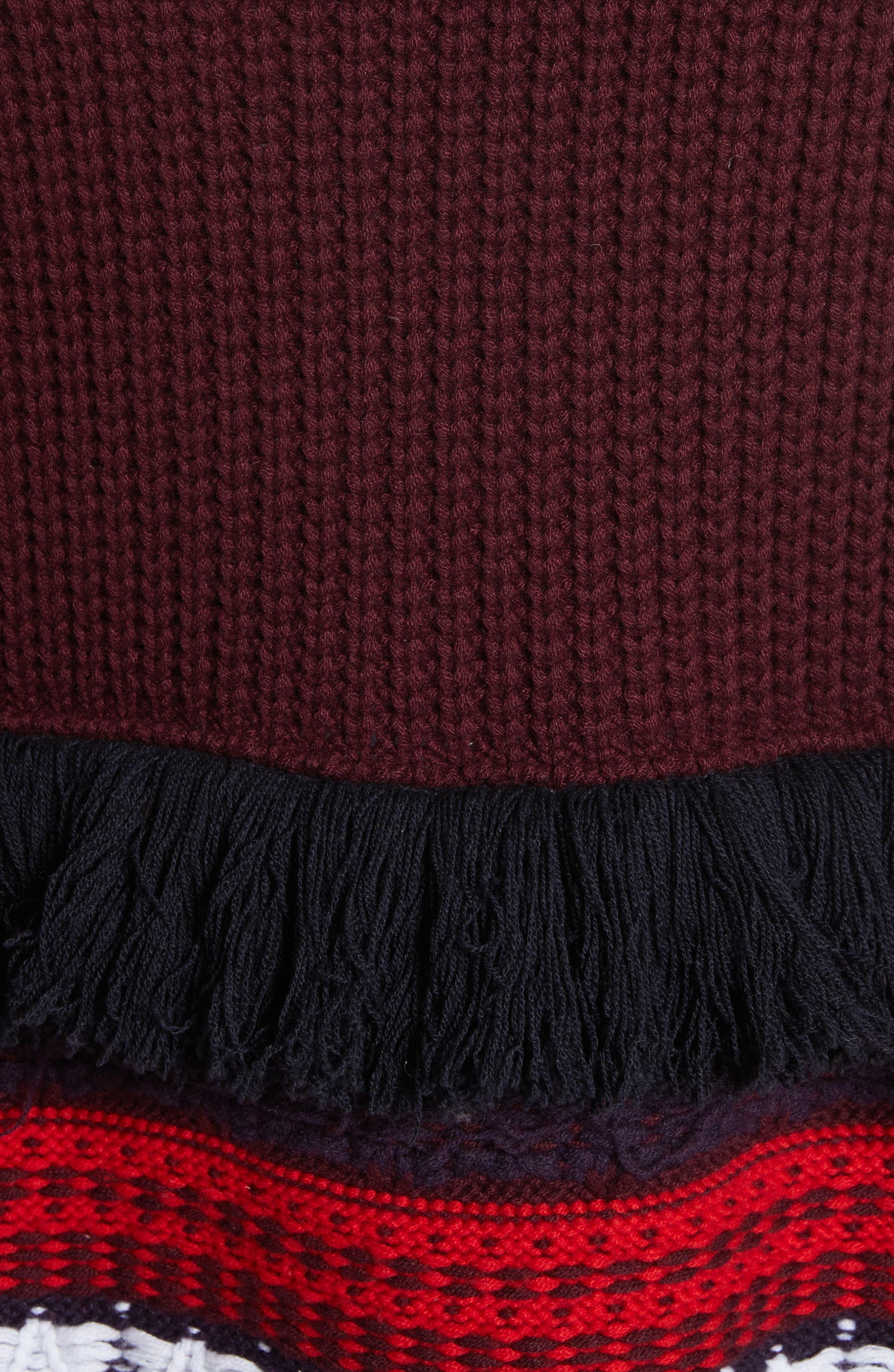 Rotaldo Wool & Cashmere Patchwork Cardigan,                             Alternate thumbnail 5, color,                             103