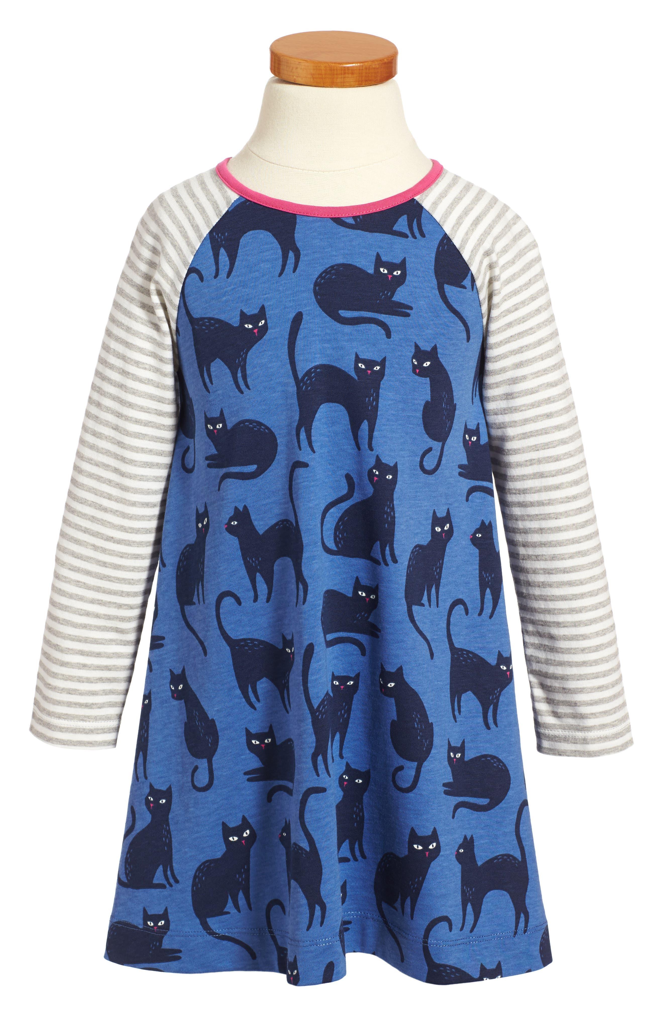 Cat Glow in the Dark Dress,                         Main,                         color, 404