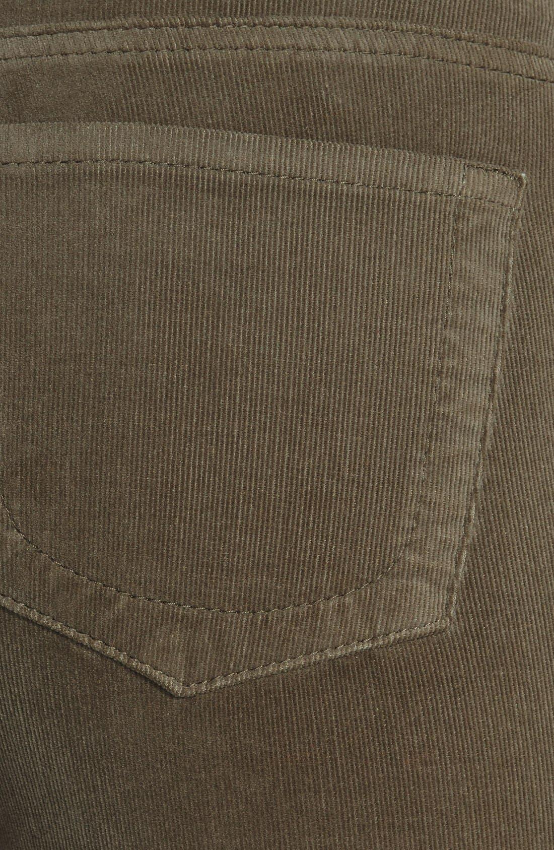 'Diana' Stretch Corduroy Skinny Pants,                             Alternate thumbnail 166, color,