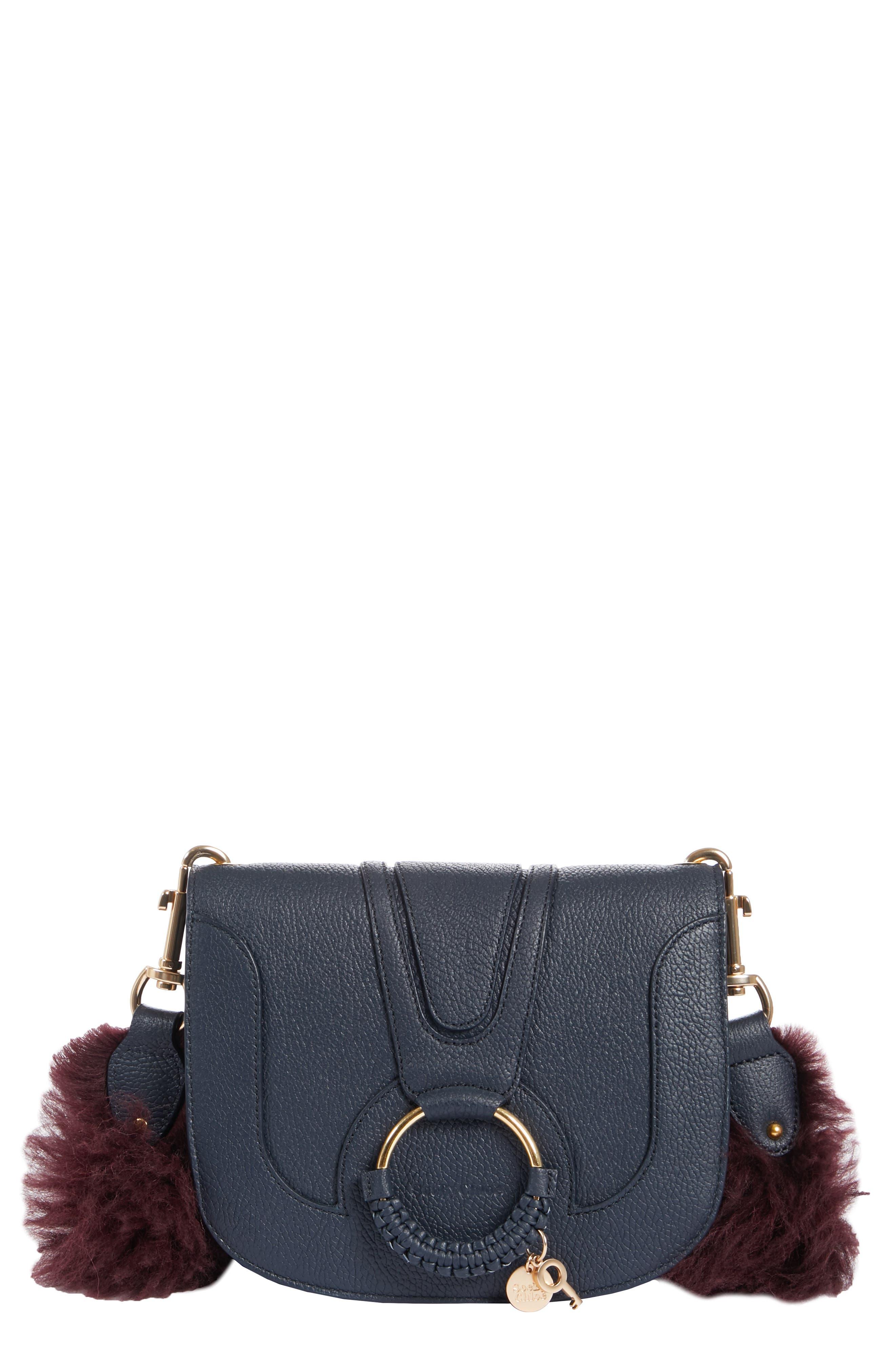 Hana Leather Shoulder Bag,                         Main,                         color, 401