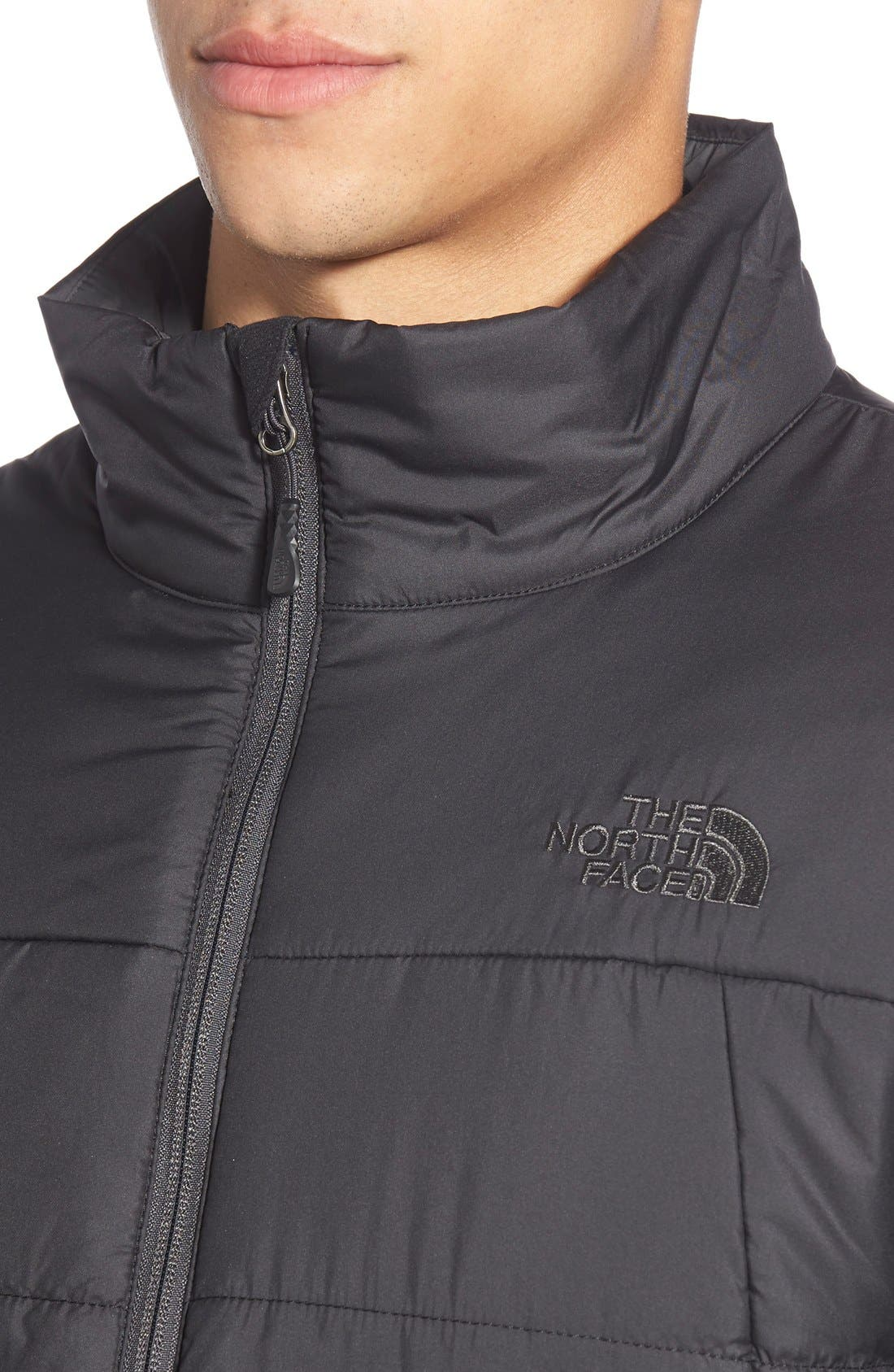 'Bombay' Quilted Jacket,                             Alternate thumbnail 5, color,                             001