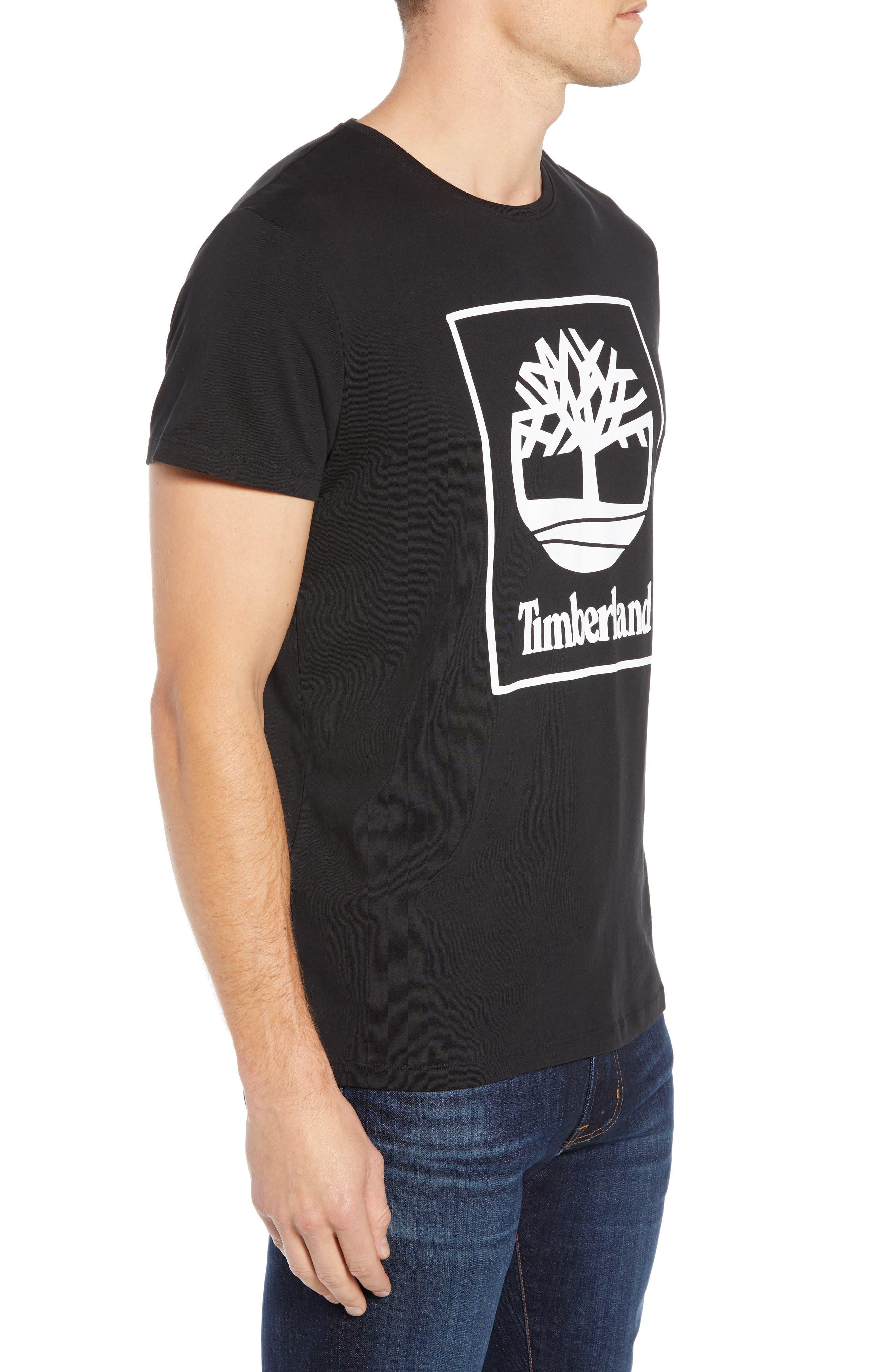 Core Logo T-Shirt,                             Alternate thumbnail 3, color,                             BLACK