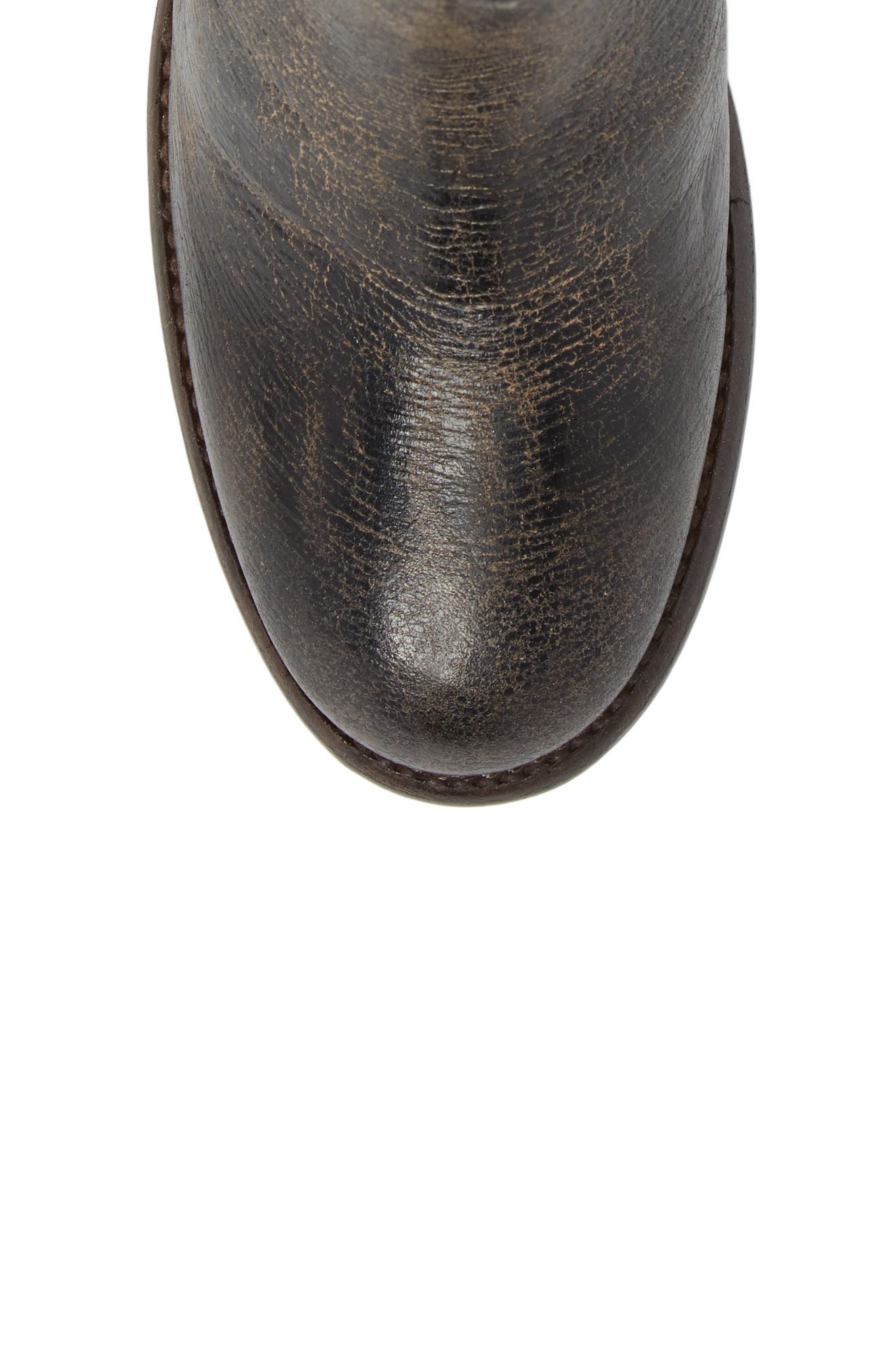 Yell Bootie,                             Alternate thumbnail 5, color,                             BLACK LUX