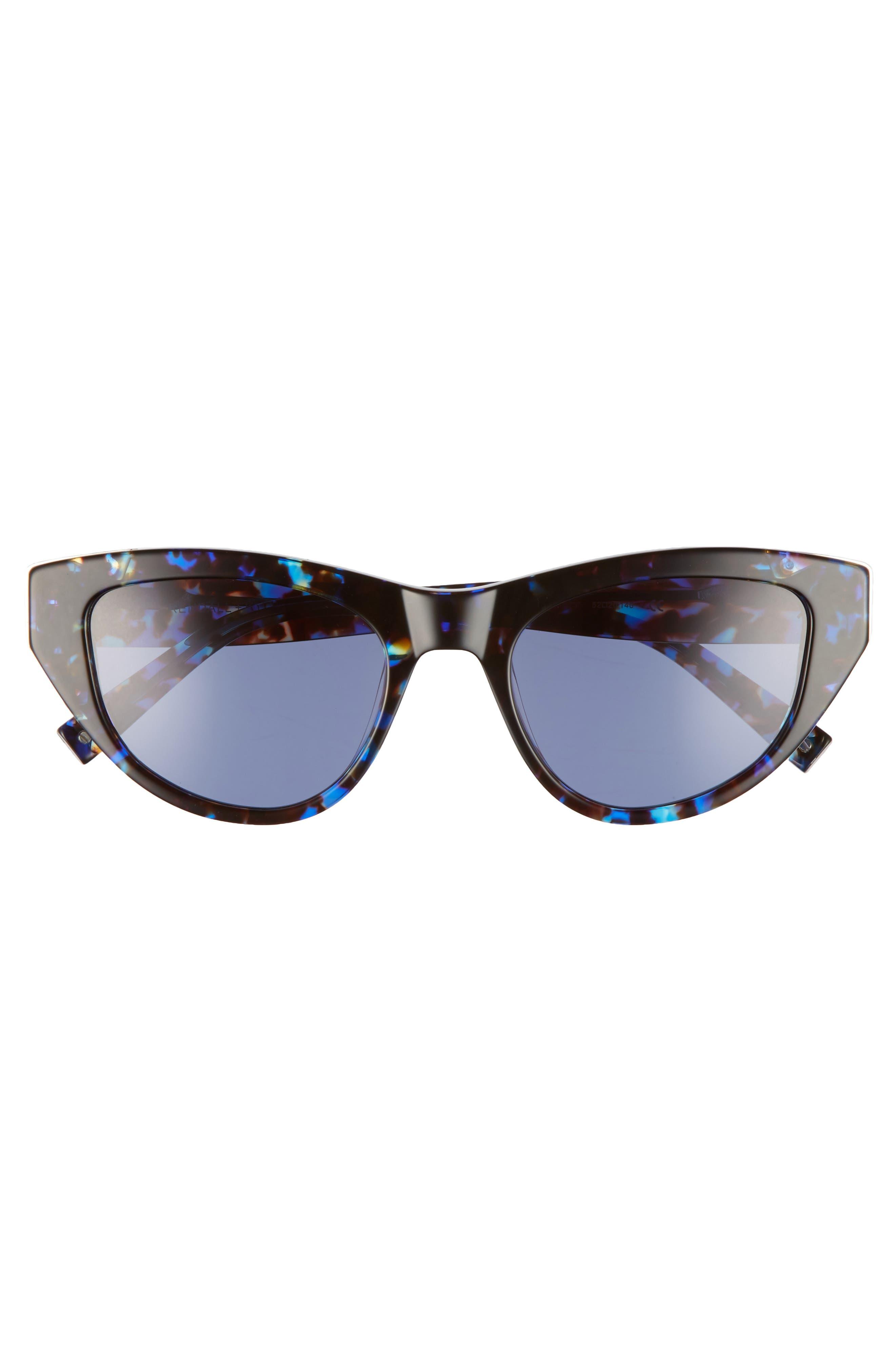 Sienna 52mm Retro Cat Eye Sunglasses,                             Alternate thumbnail 9, color,