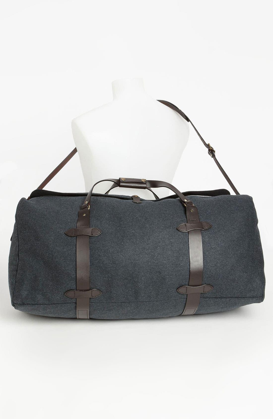 Large Wool Duffel Bag,                             Alternate thumbnail 3, color,
