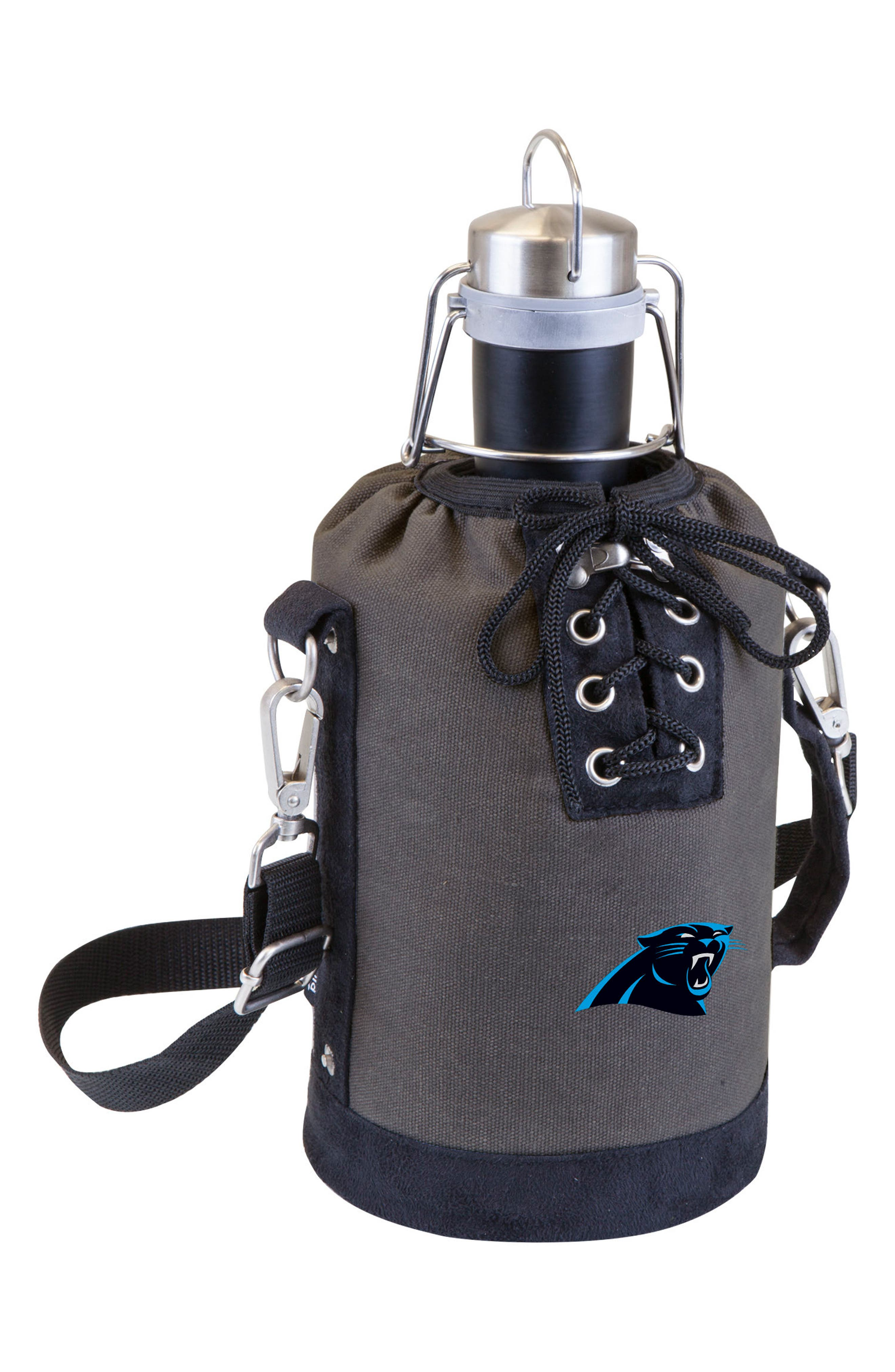 NFL Team Logo Tote & Stainless Steel Growler,                             Main thumbnail 5, color,