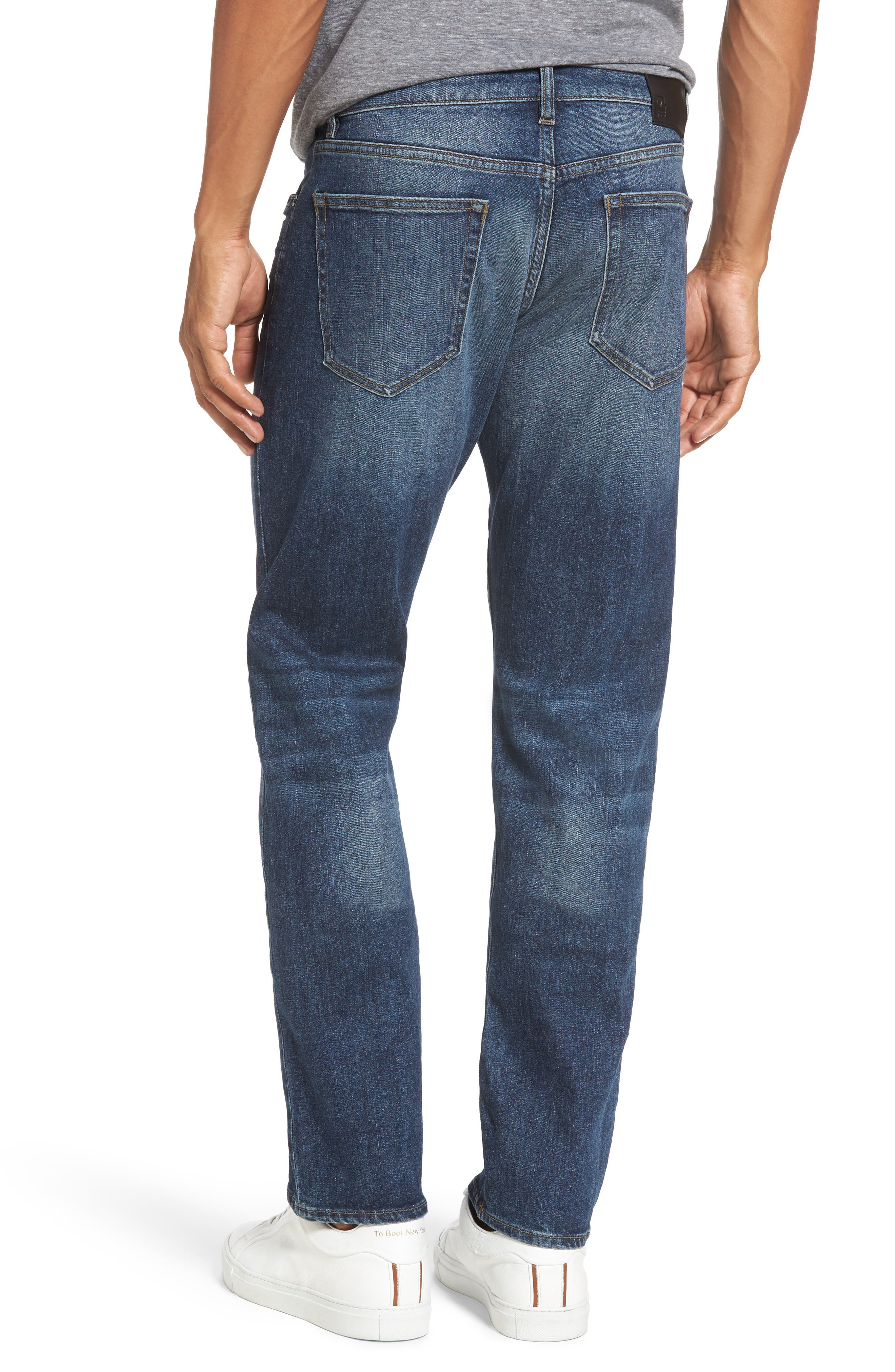 Russell Slim Straight Leg Jeans,                             Alternate thumbnail 2, color,                             405