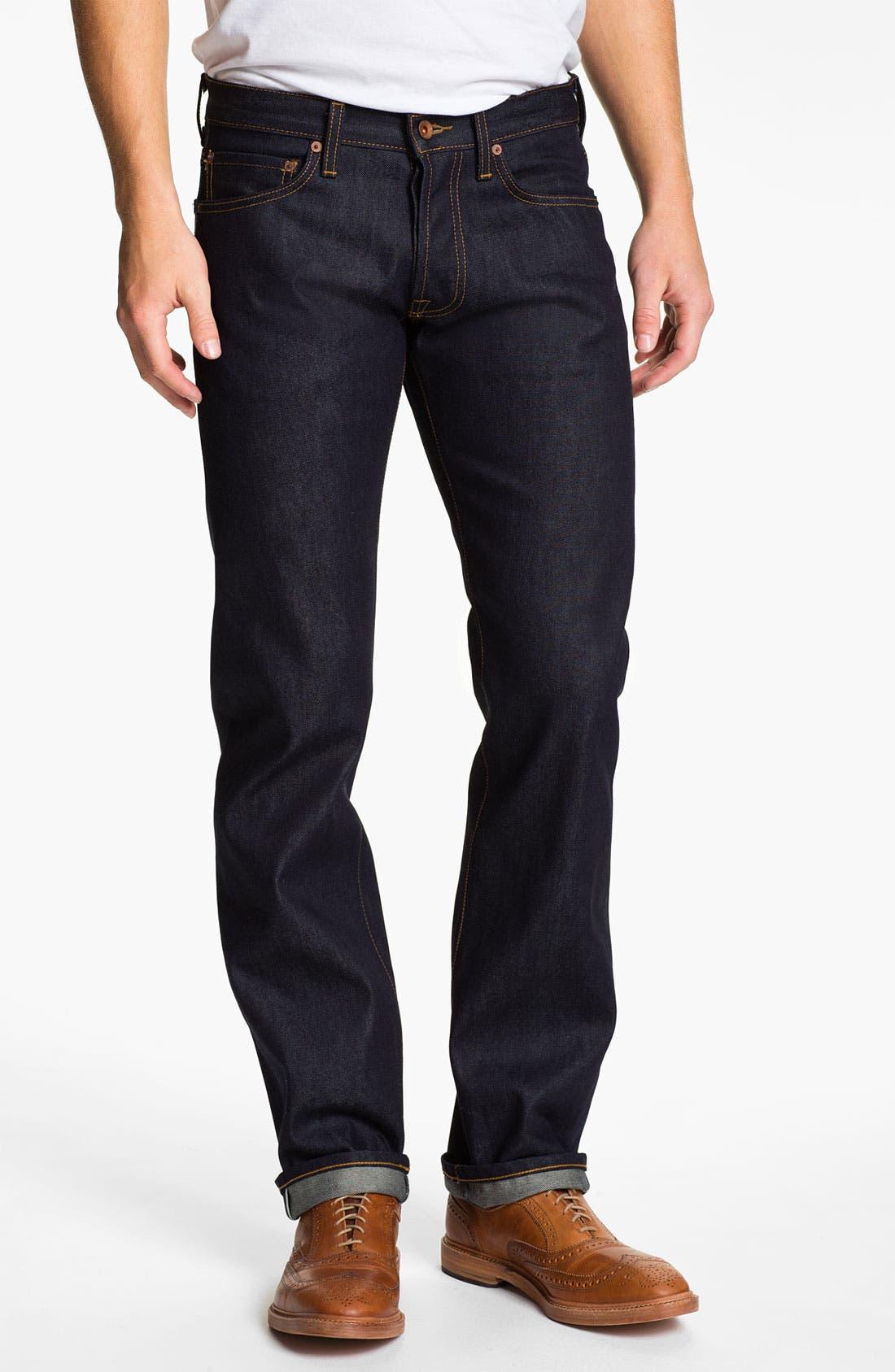 'Reed' Straight Leg Jeans,                             Alternate thumbnail 2, color,                             401