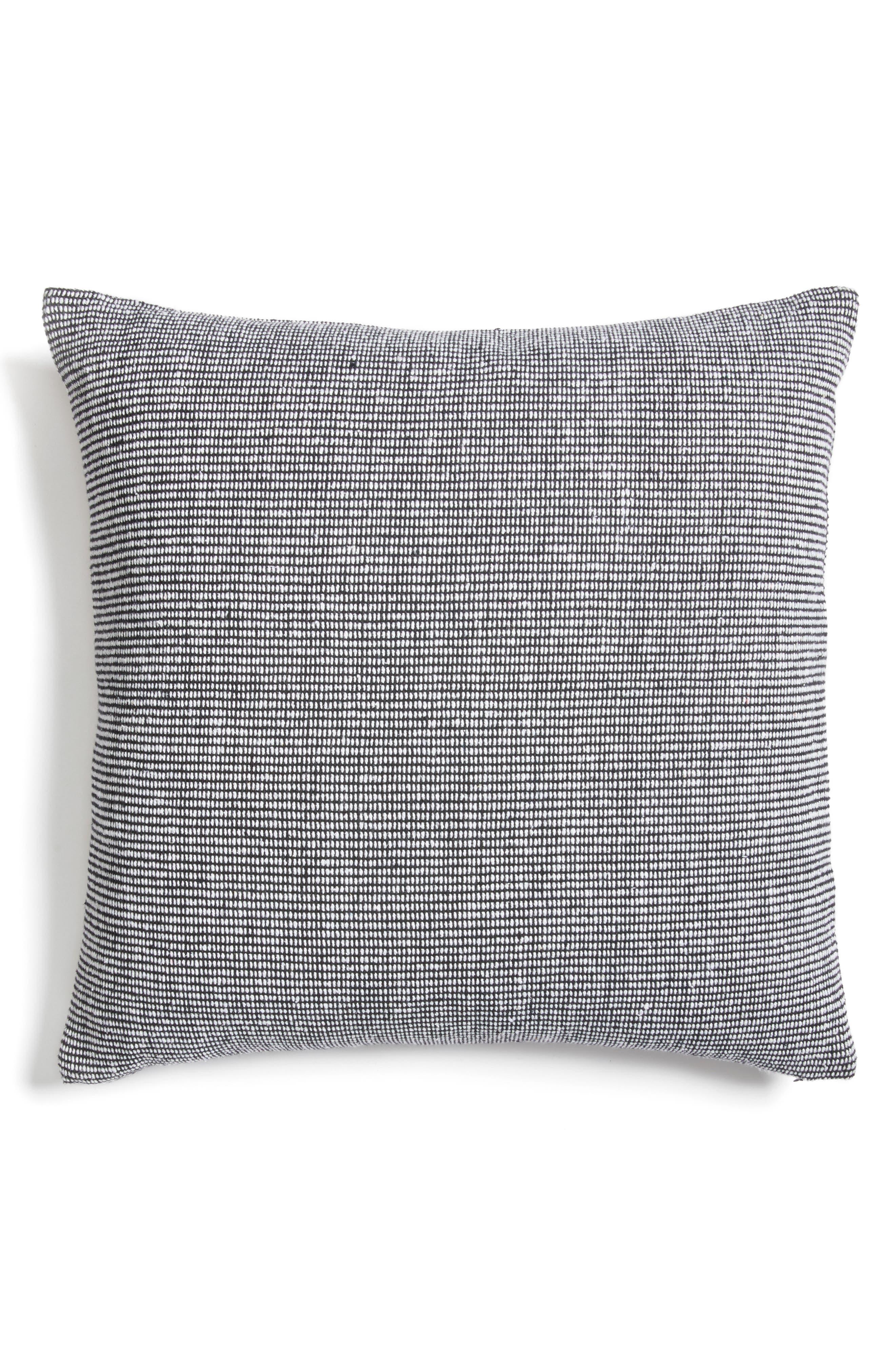 Structure Pillow,                             Alternate thumbnail 2, color,                             BLACK/ WHITE