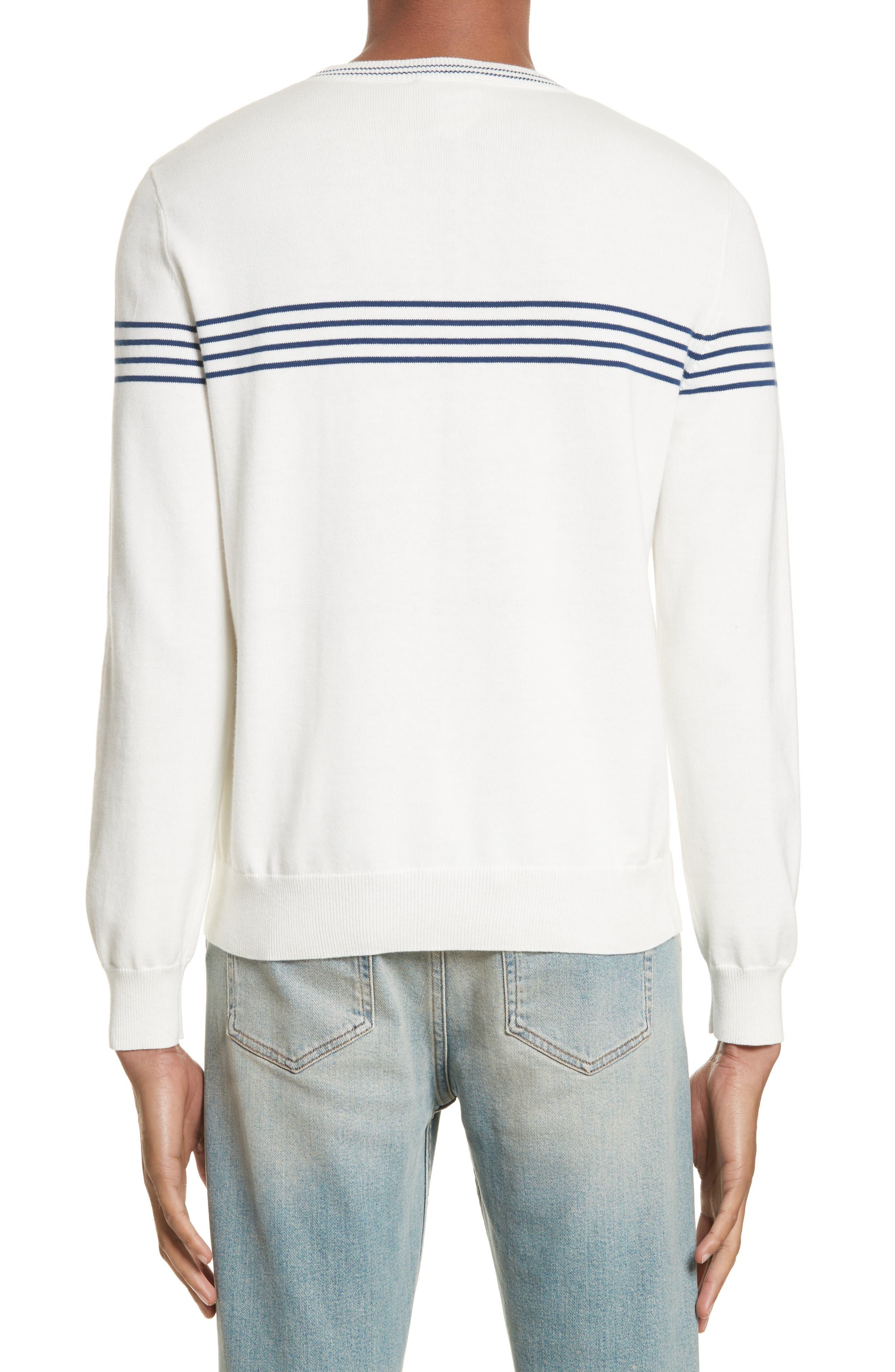 Logo Cotton & Cashmere Crewneck Sweater,                             Alternate thumbnail 2, color,                             111