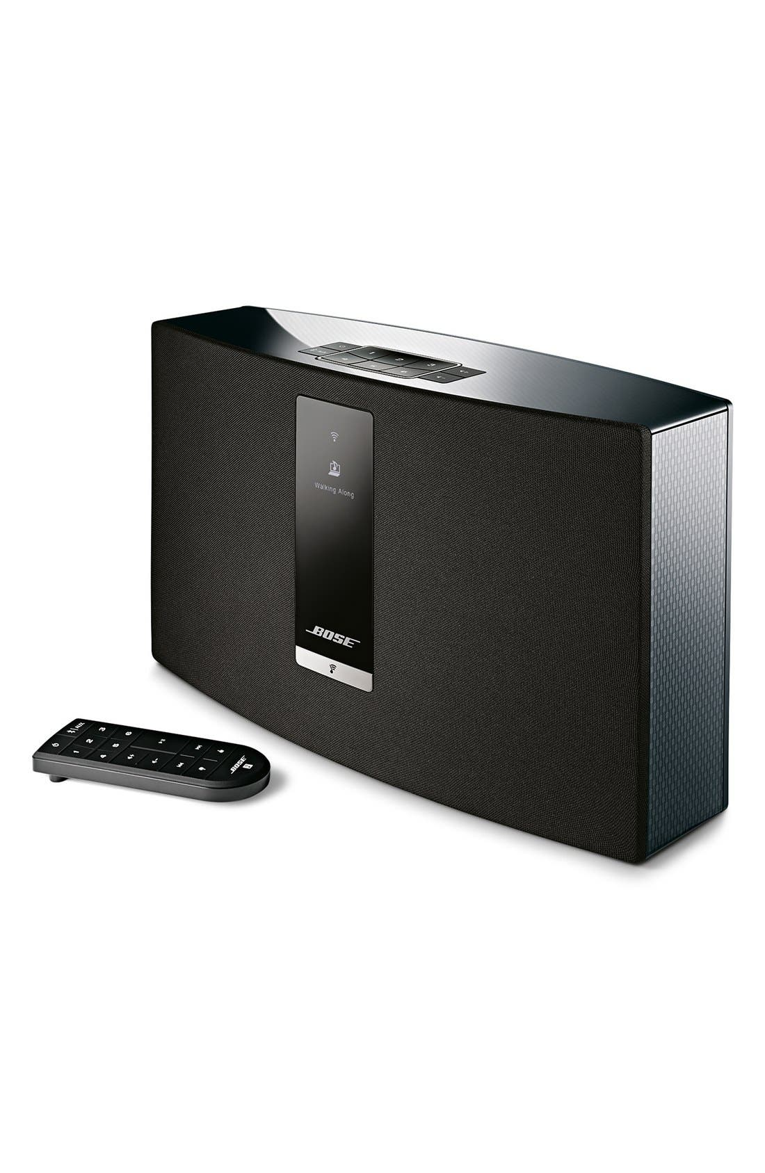 SoundTouch<sup>®</sup> 20 Series III Wireless Music System,                             Main thumbnail 1, color,                             BLACK