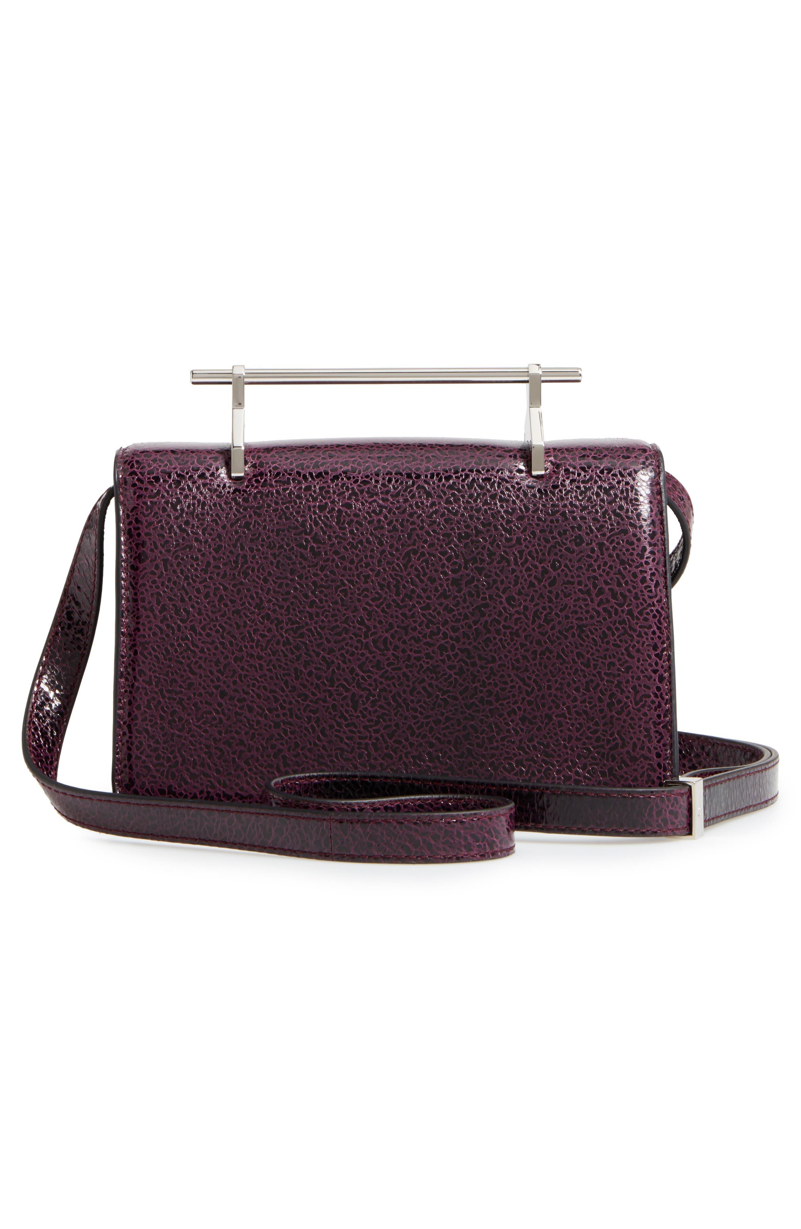 Indre Leather Shoulder Bag,                             Alternate thumbnail 3, color,                             930