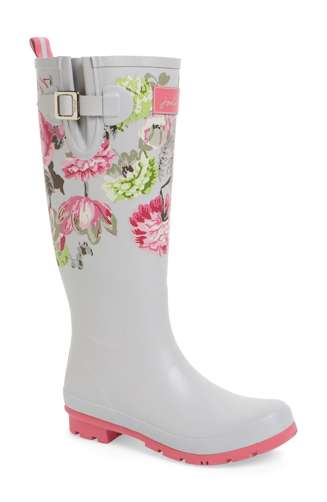 'Welly' Print Rain Boot,                             Main thumbnail 29, color,