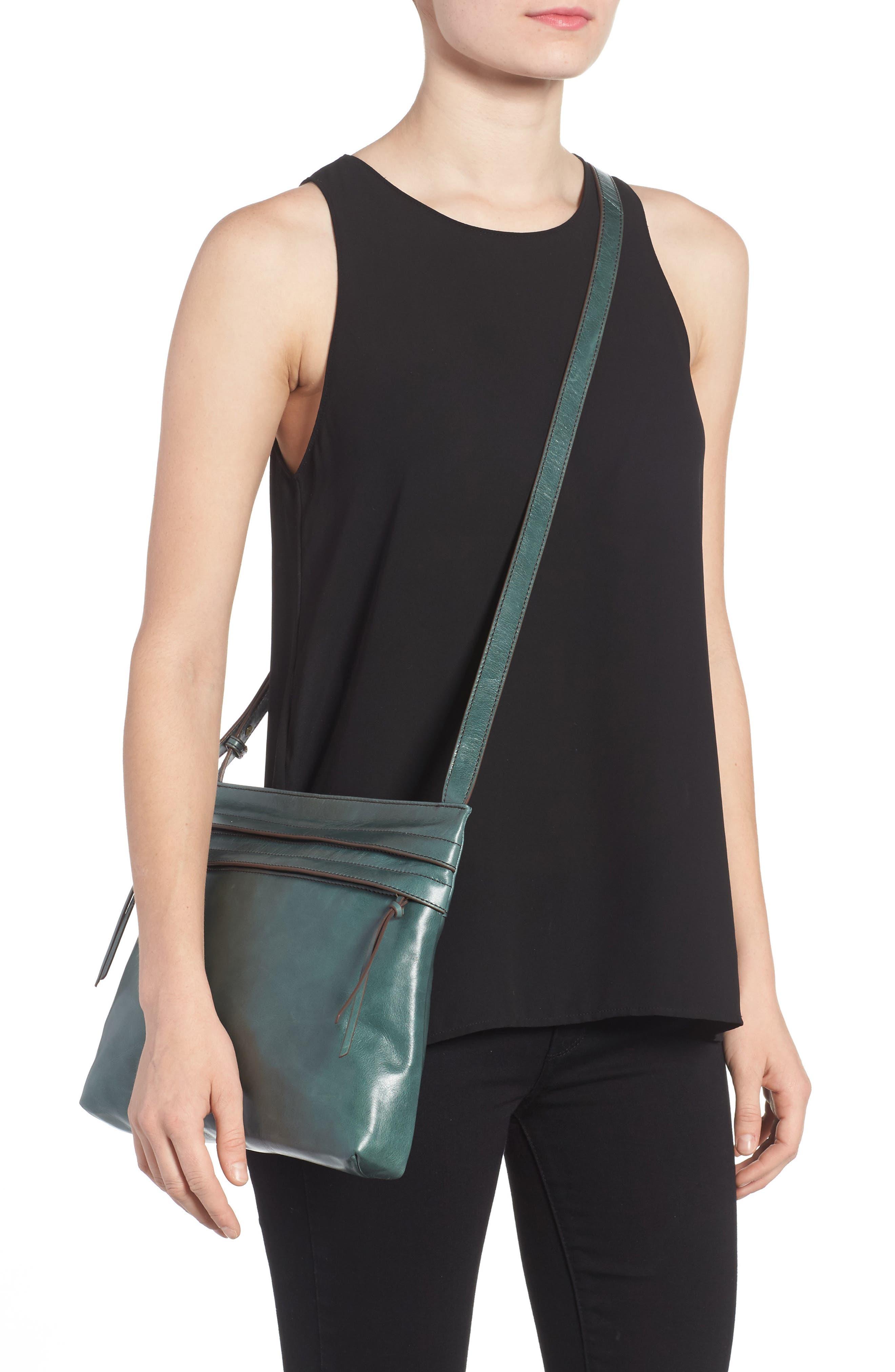 Larkin Leather Messenger Bag,                             Alternate thumbnail 2, color,                             357