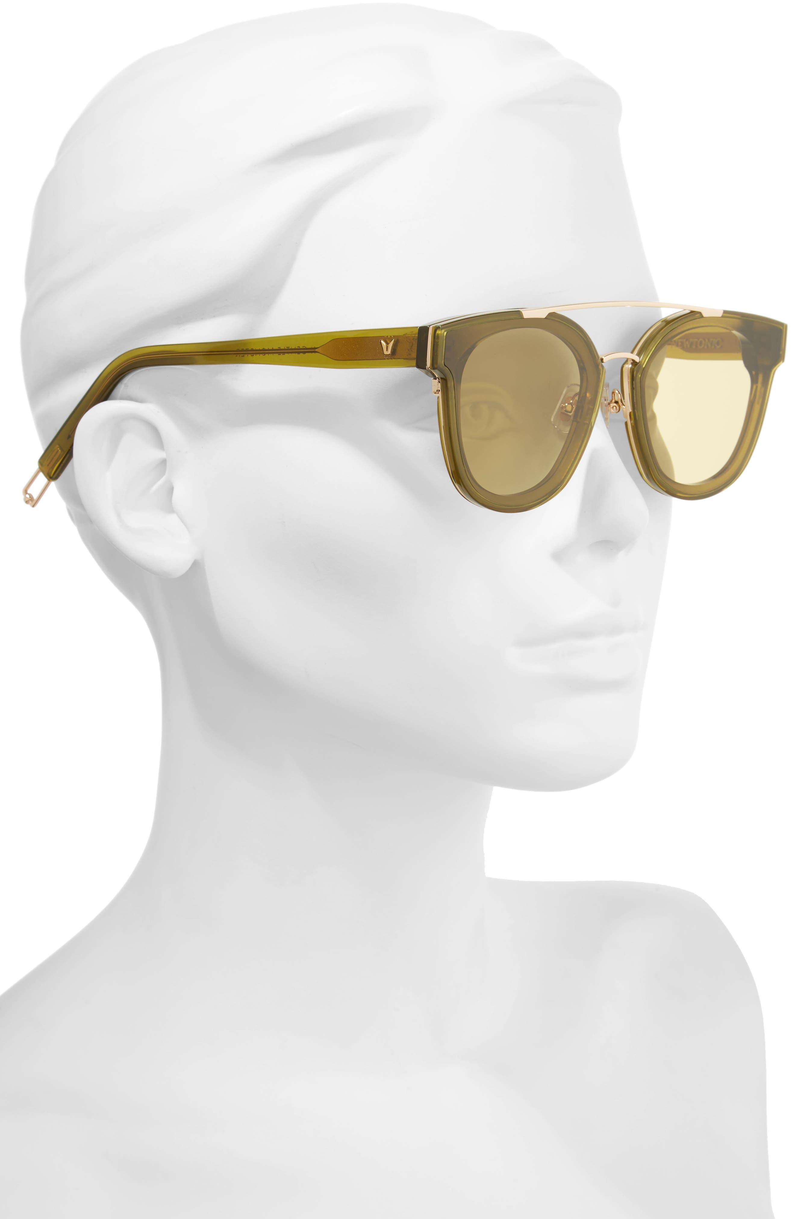Tilda Swinton x Gentle Monster Newtonic 60mm Rounded Sunglasses,                             Alternate thumbnail 6, color,