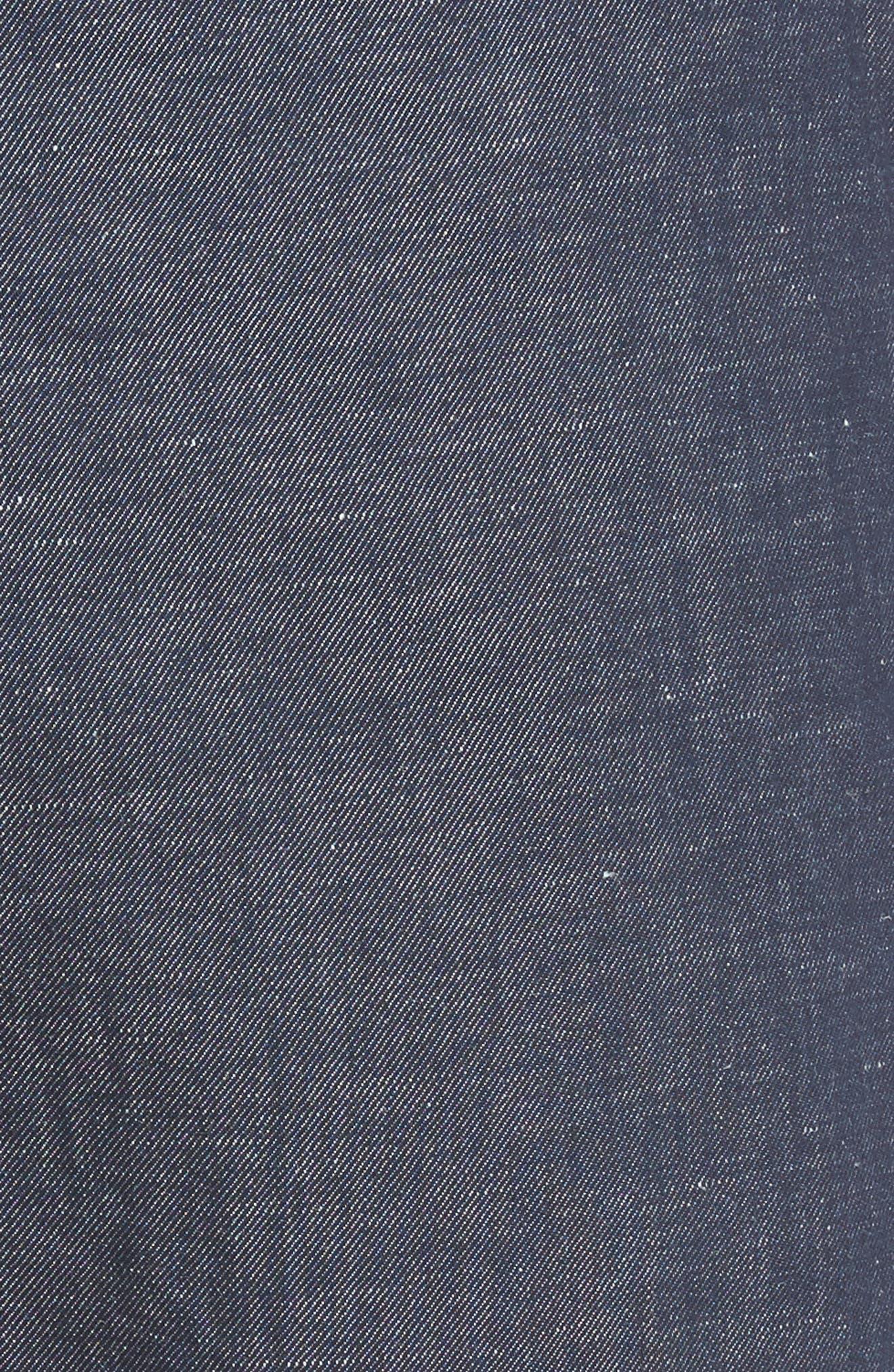 Frisho Cuff Denim Shorts,                             Alternate thumbnail 10, color,