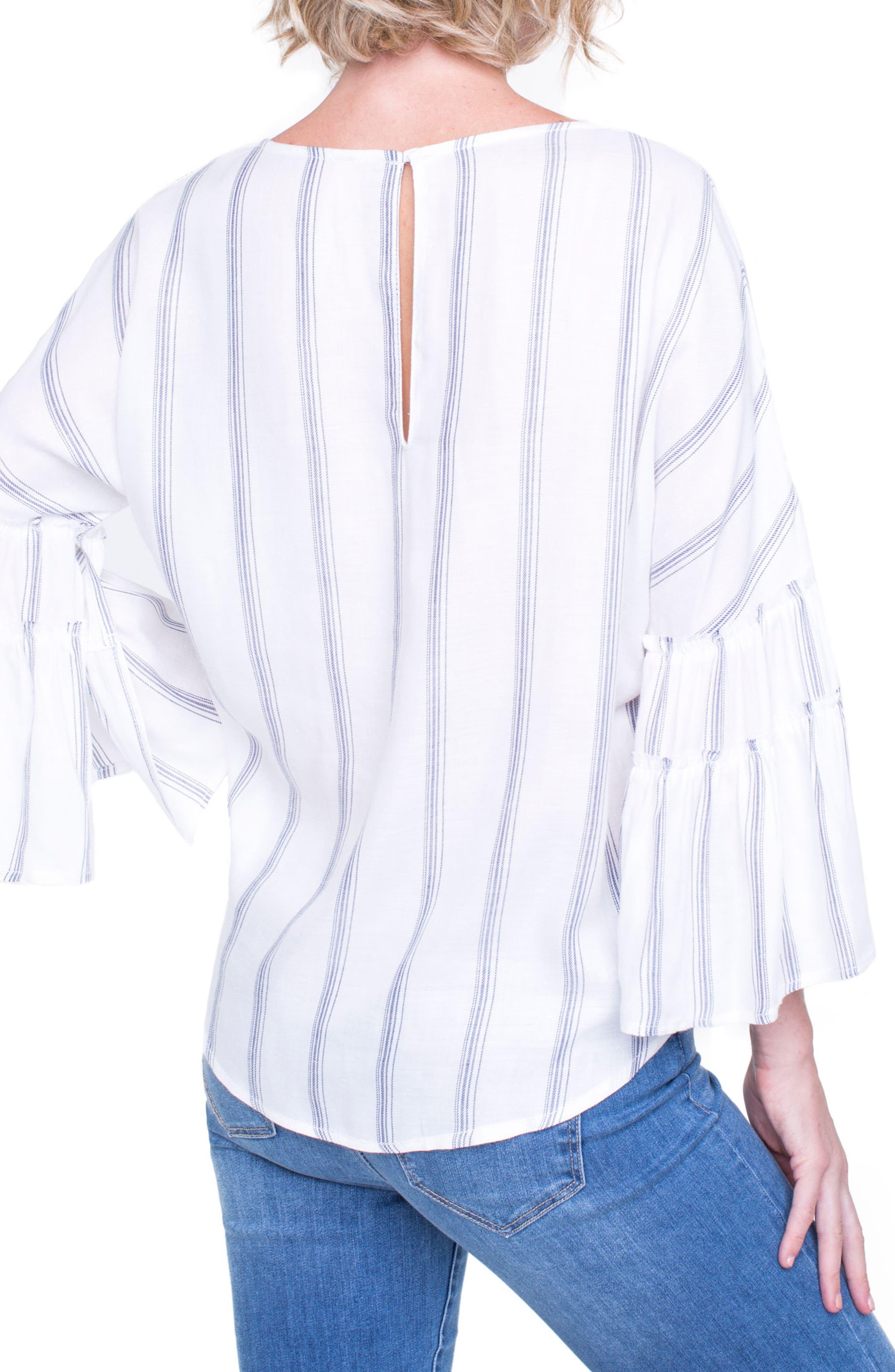 Voluminous Sleeve Shirt,                             Alternate thumbnail 2, color,                             100