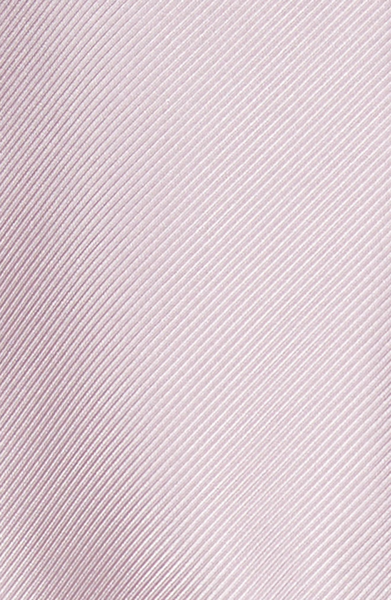 Gather Neck Silk A-Line Dress,                             Alternate thumbnail 5, color,                             664