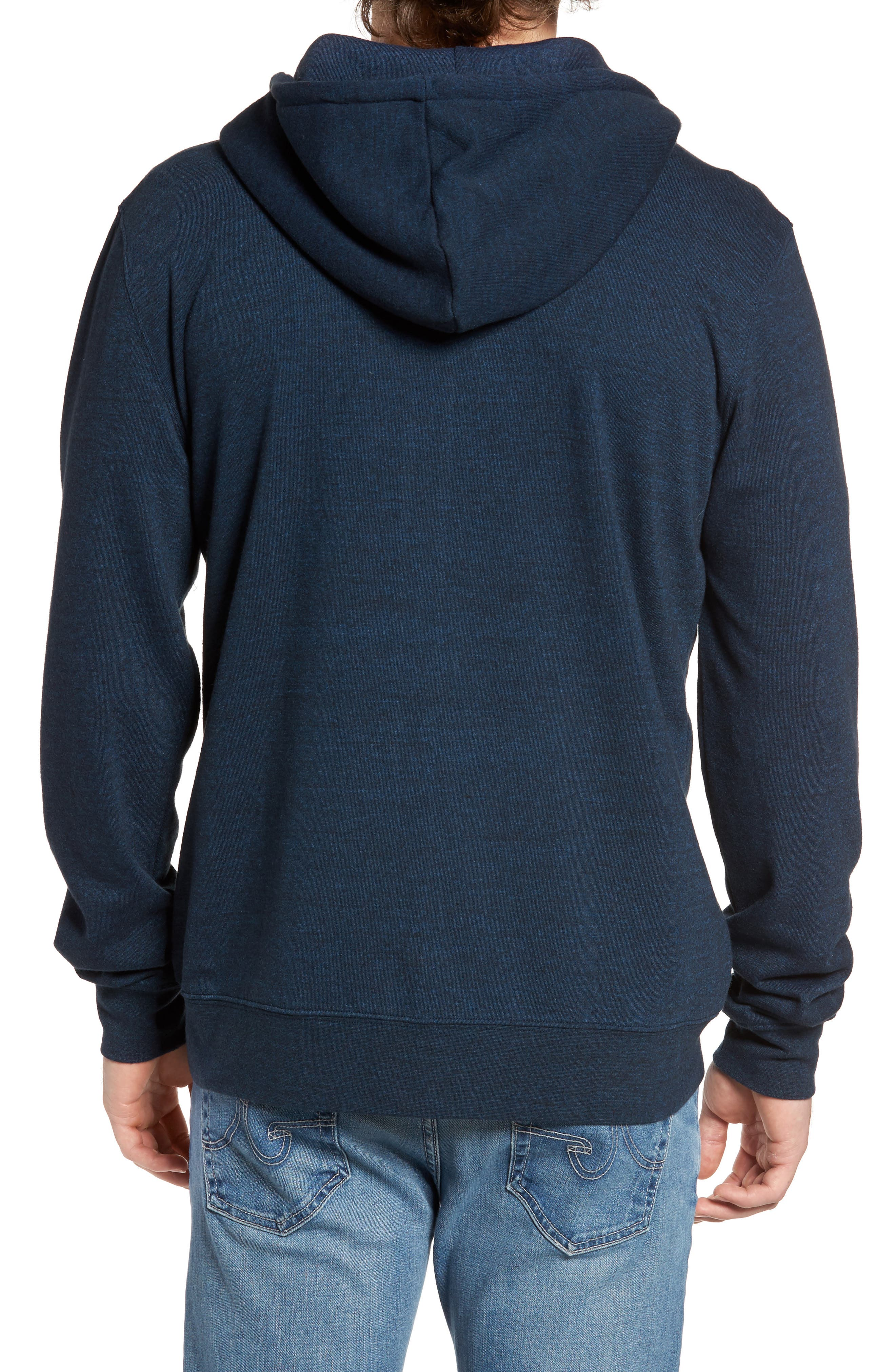 Threads for Thought Trim Fit Heathered Hoodie,                             Alternate thumbnail 39, color,