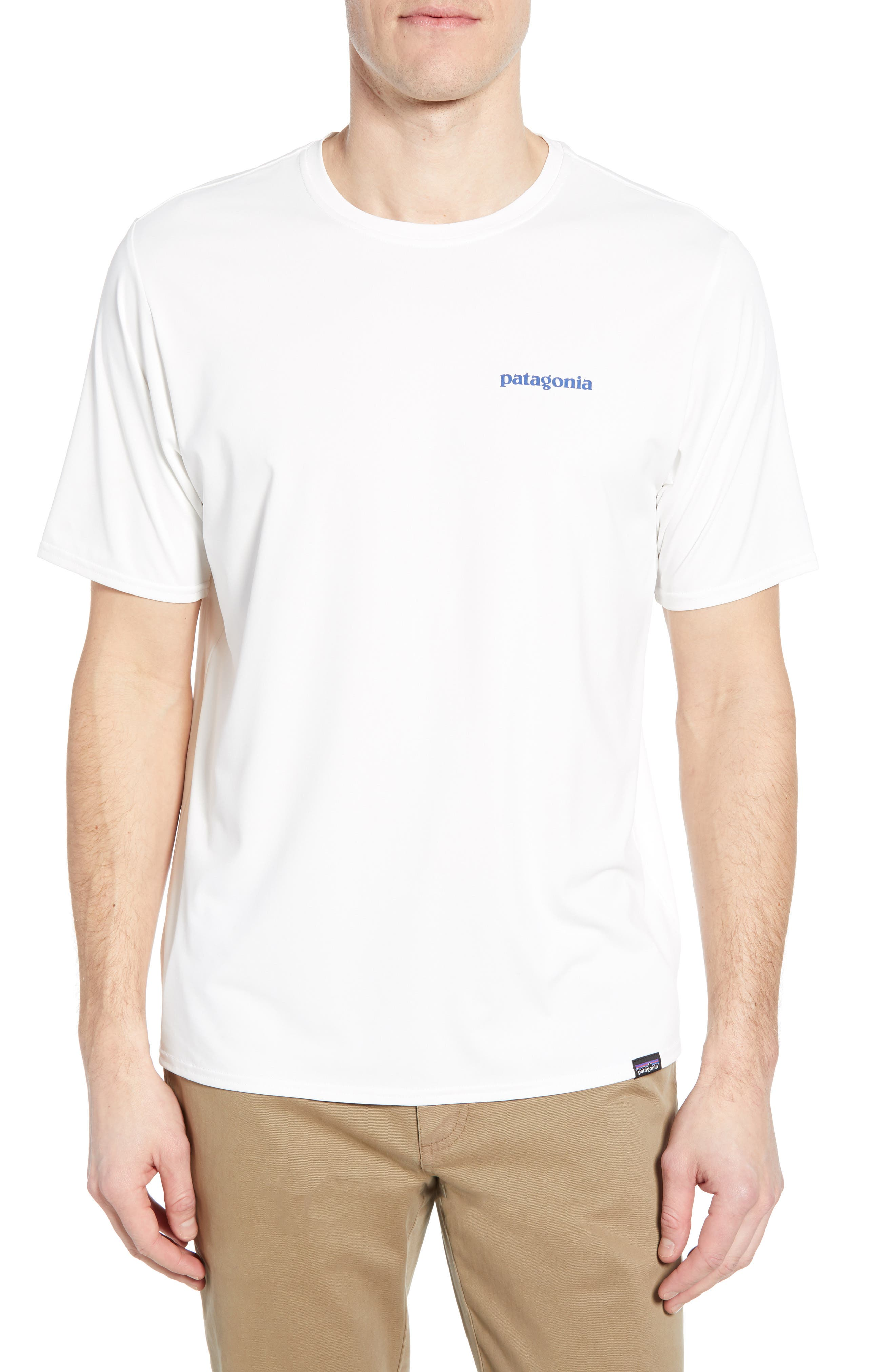 Patagonia Capilene Cool Daily Graphic T-Shirt, White