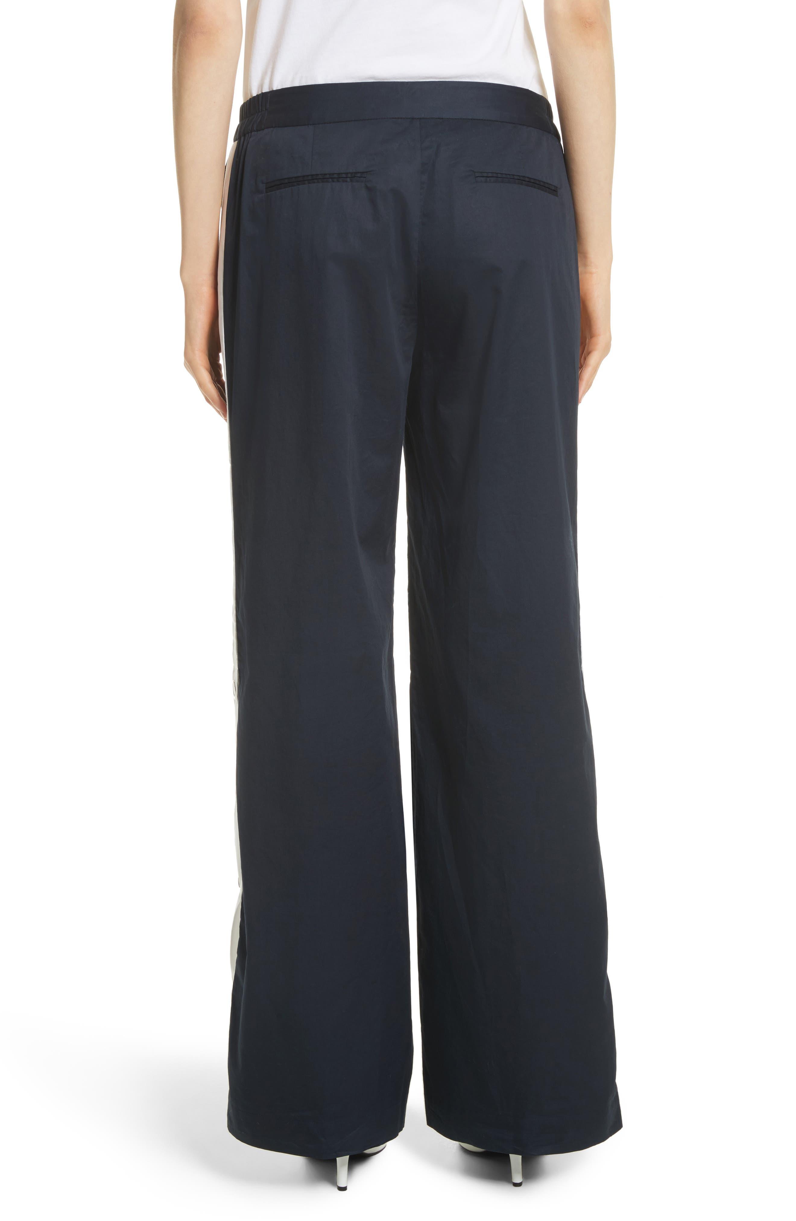 Arwen Wide Leg Cotton Pants,                             Alternate thumbnail 2, color,                             005