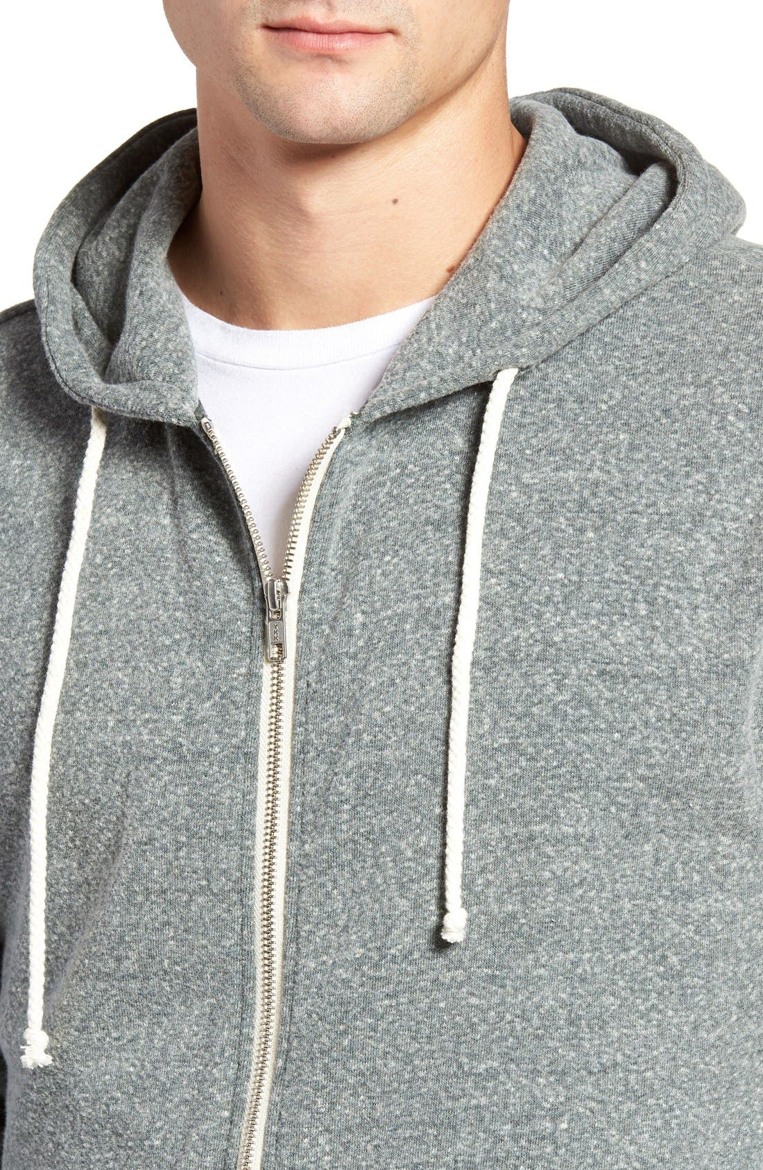 Threads for Thought Trim Fit Heathered Hoodie,                             Main thumbnail 20, color,