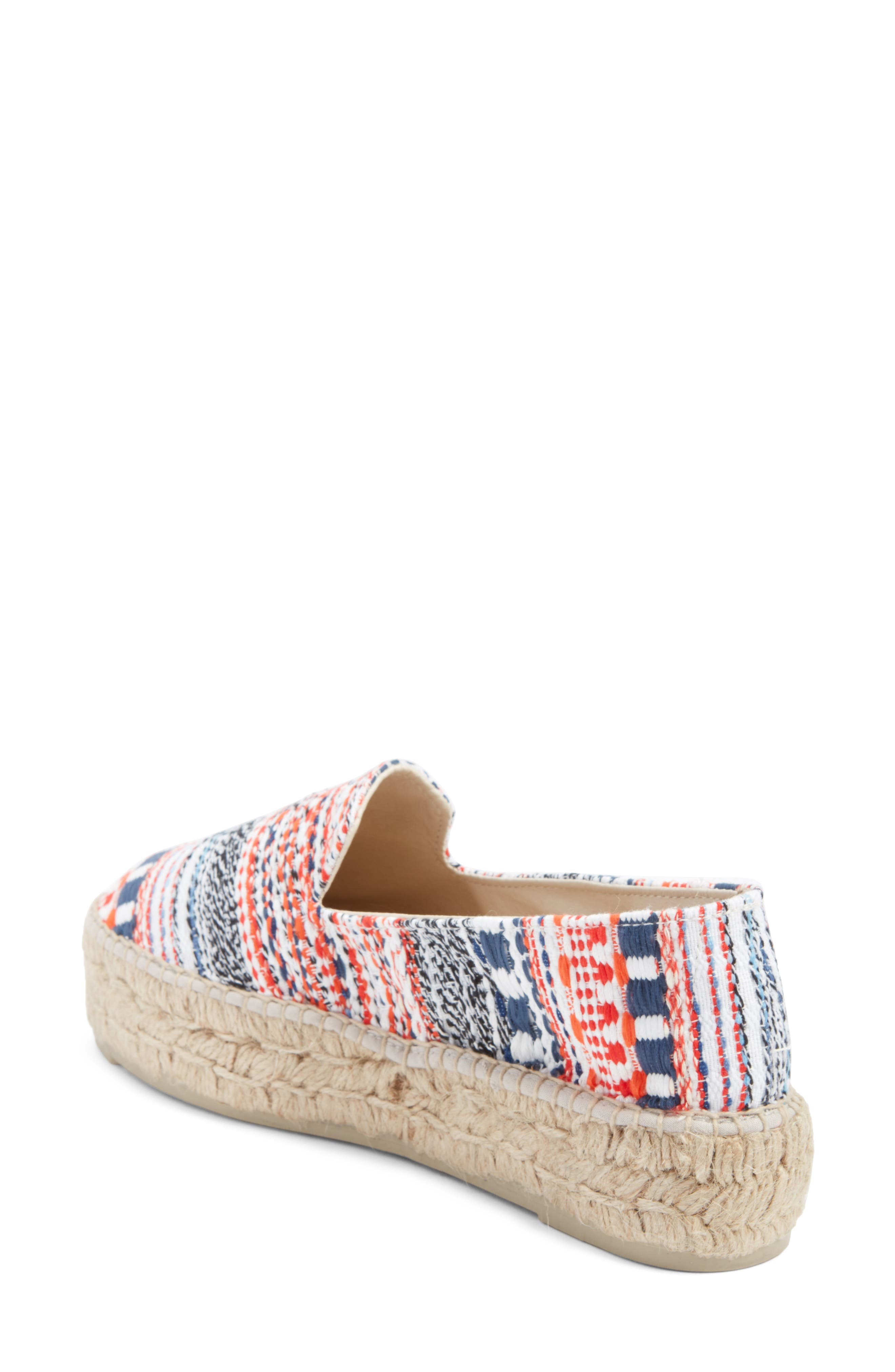 MANEBÍ Yucatan Platform Espadrille Slip-On,                             Alternate thumbnail 2, color,                             420