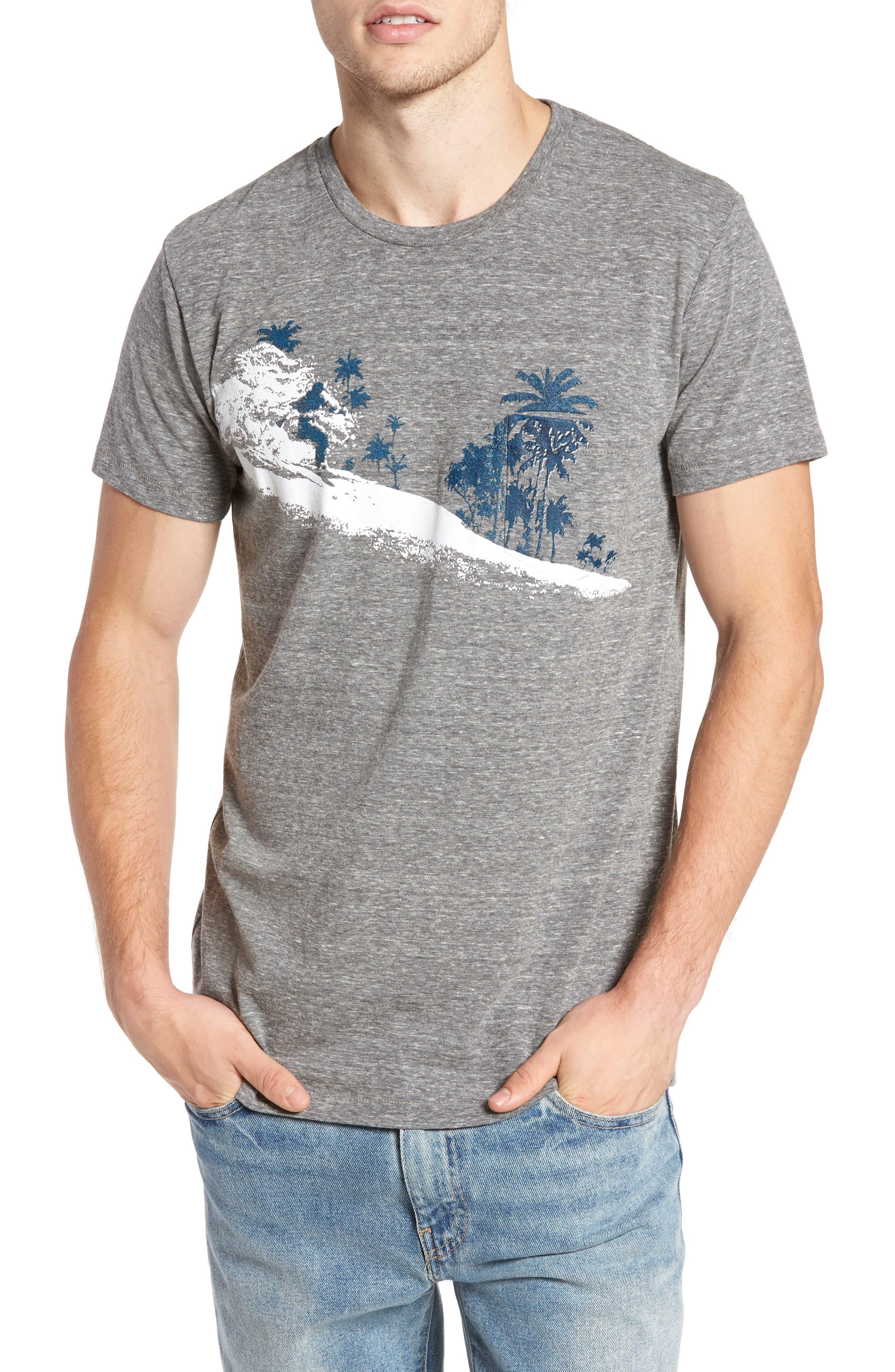 Palm Diamonds Pocket T-Shirt,                             Main thumbnail 1, color,