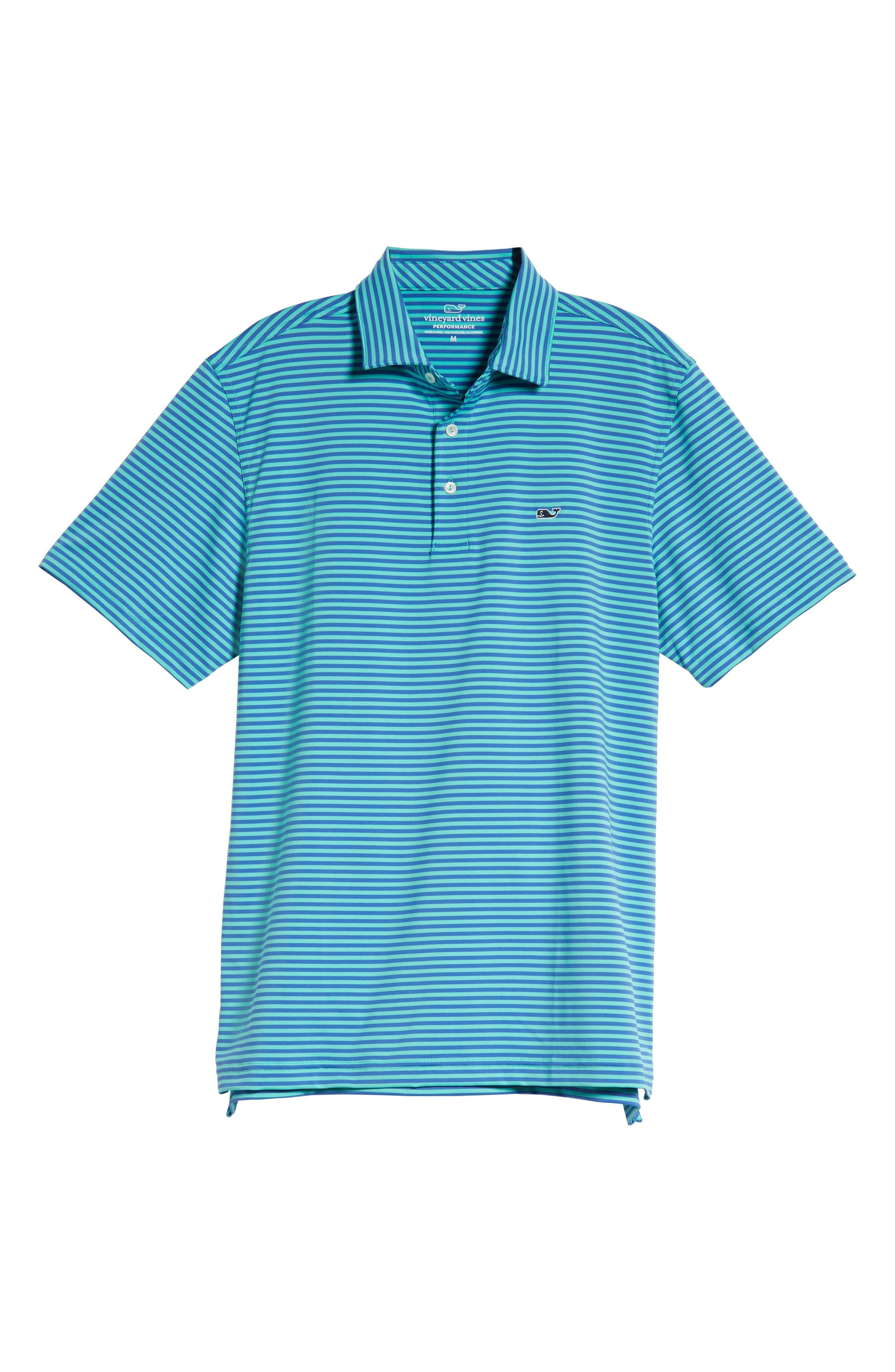 Kennedy Stripe Golf Polo,                             Alternate thumbnail 99, color,