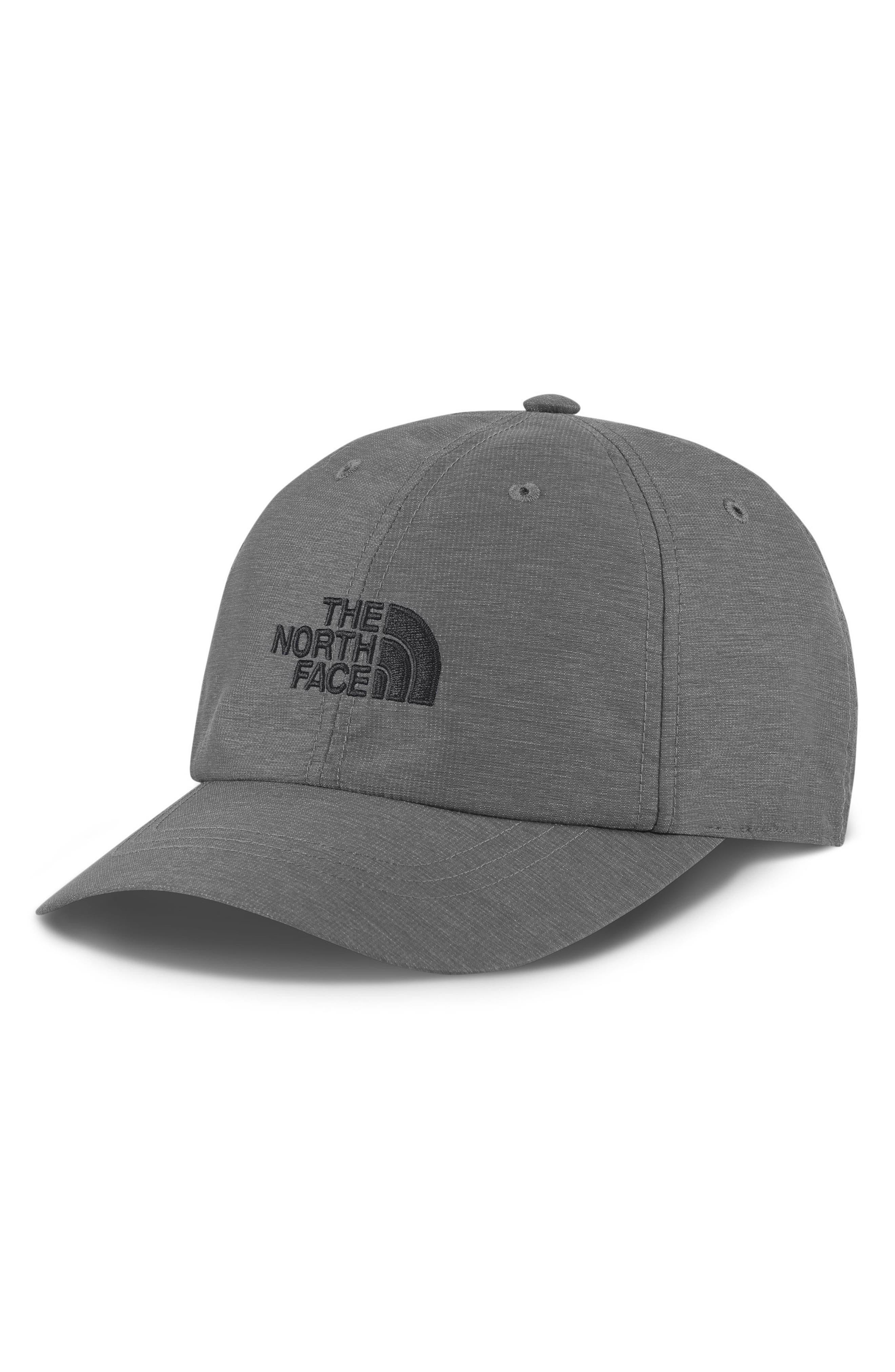 Horizon Baseball Cap,                         Main,                         color, MEDIUM GREY HEATHER/ ASPHALT