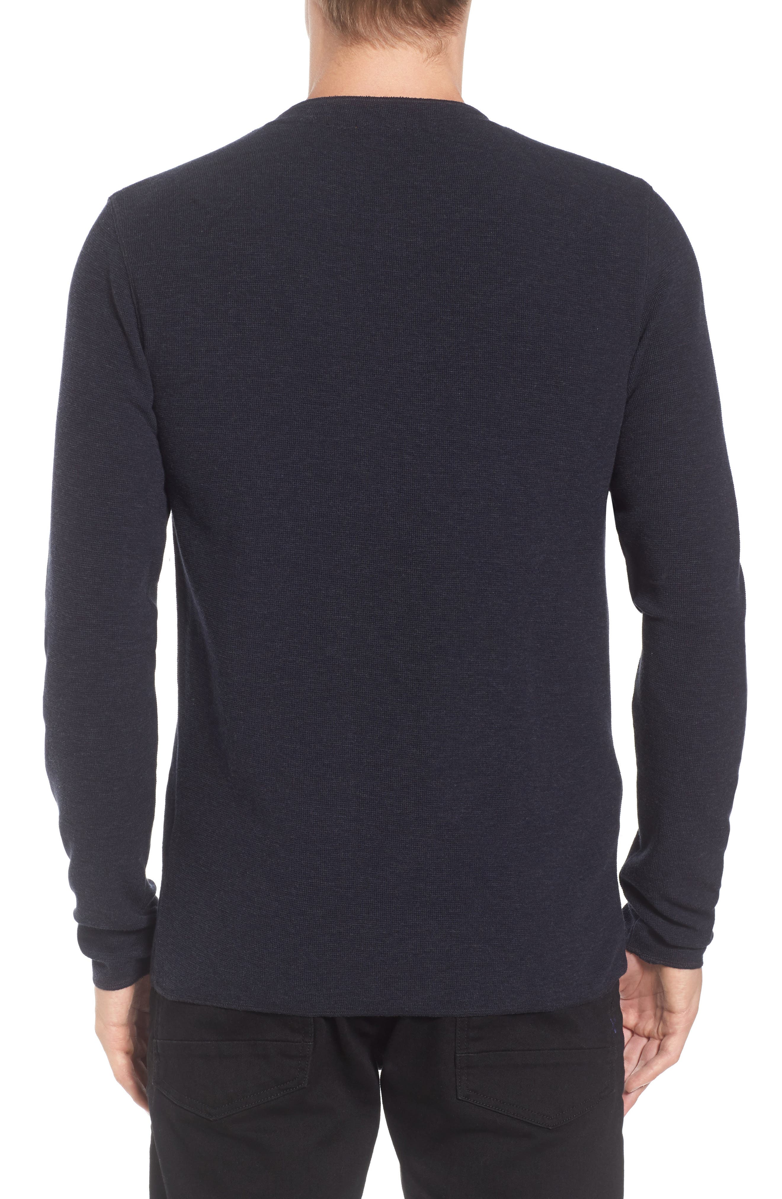 Topsider Thermal Henley,                             Alternate thumbnail 8, color,