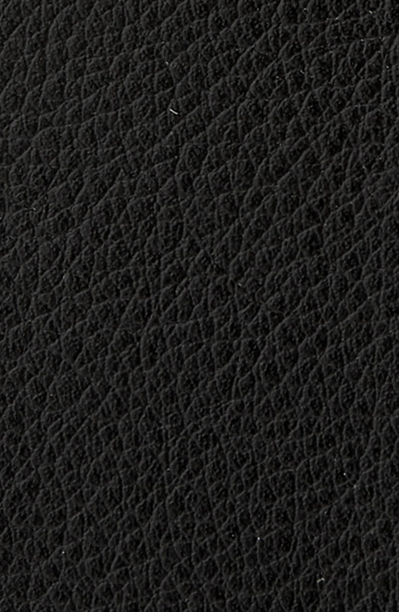Reming Reversible Leather Belt,                             Alternate thumbnail 3, color,                             BLACK/ BROWN